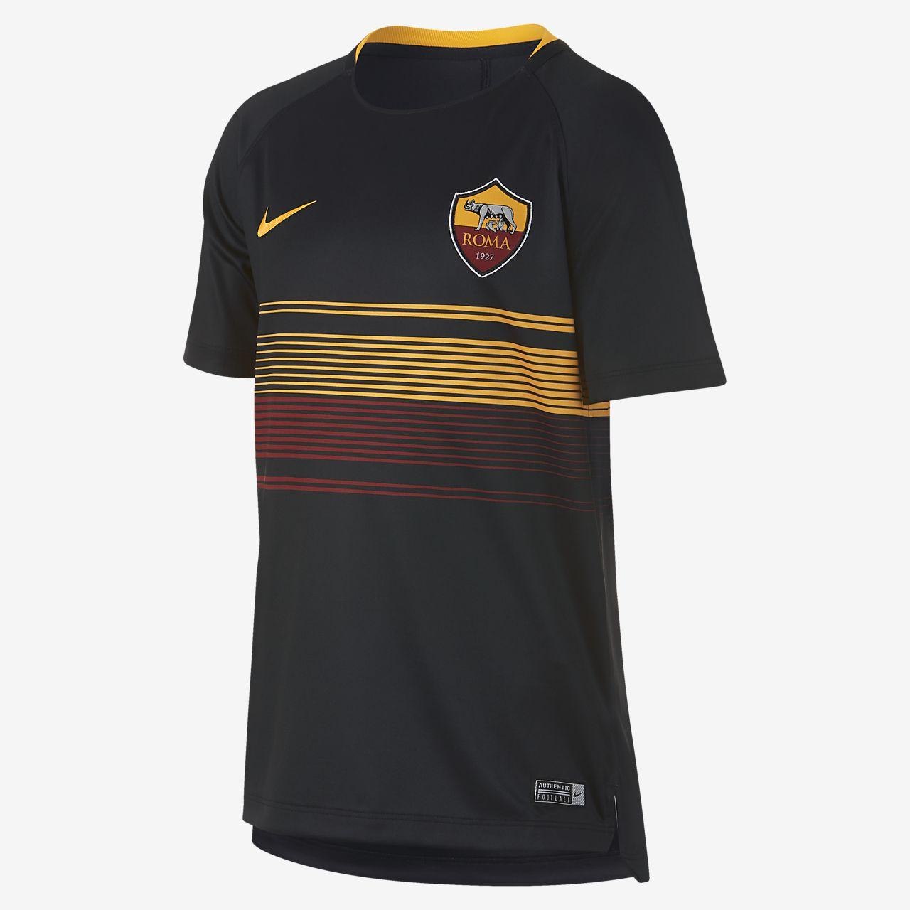 A.S. Roma Dri-FIT Squad Older Kids' Football Top