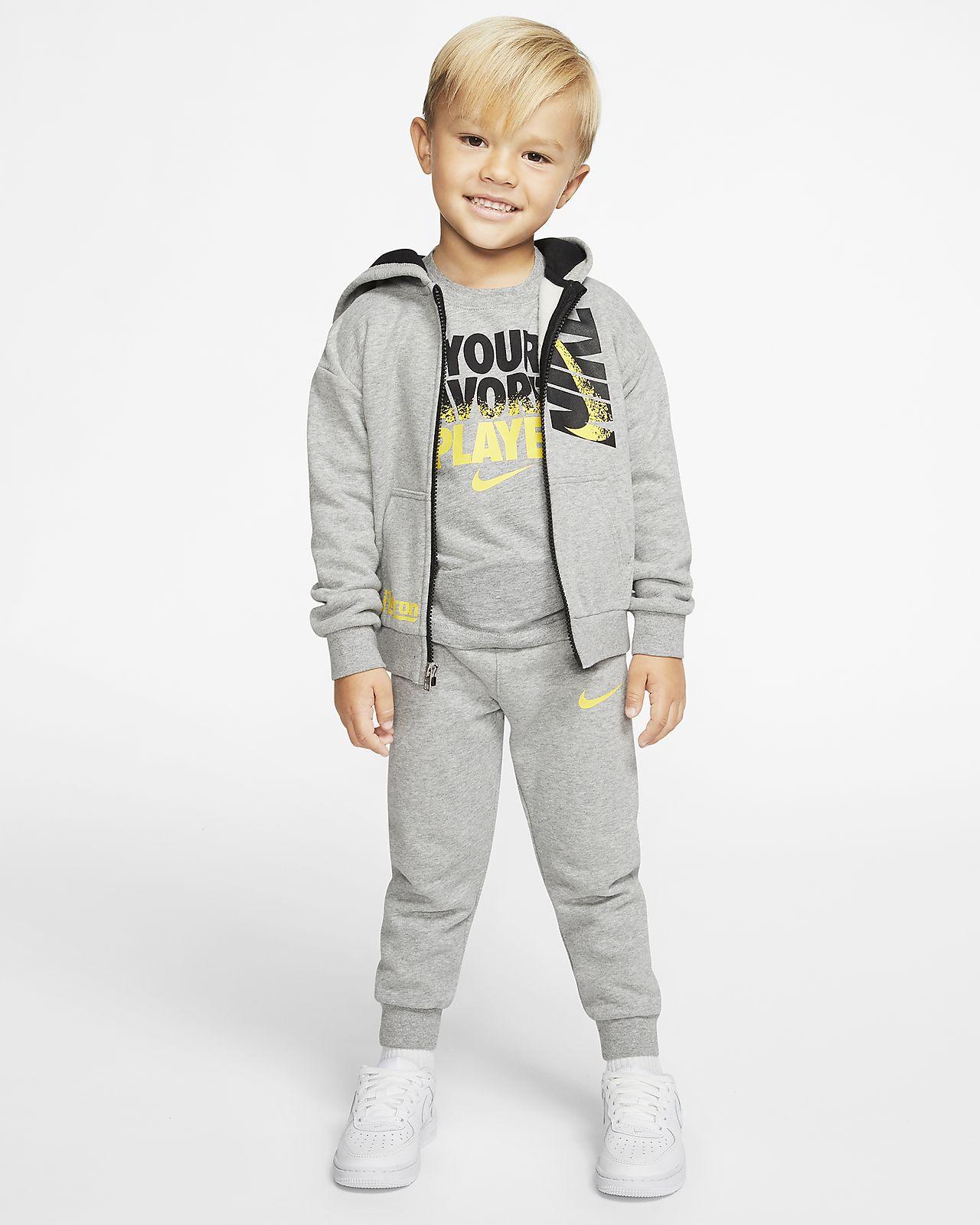 Σετ μπλούζα με κουκούλα και παντελόνι φόρμας LeBron για βρέφη (12-24M)