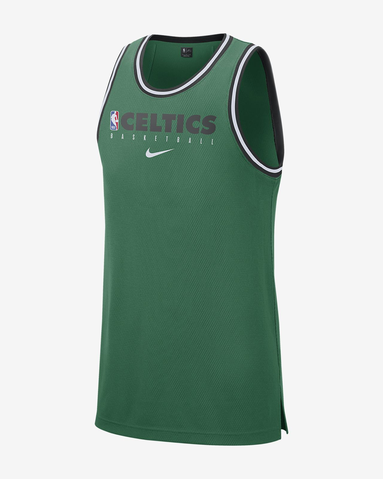 Męska koszulka bez rękawów NBA Boston Celtics Nike Dri-FIT