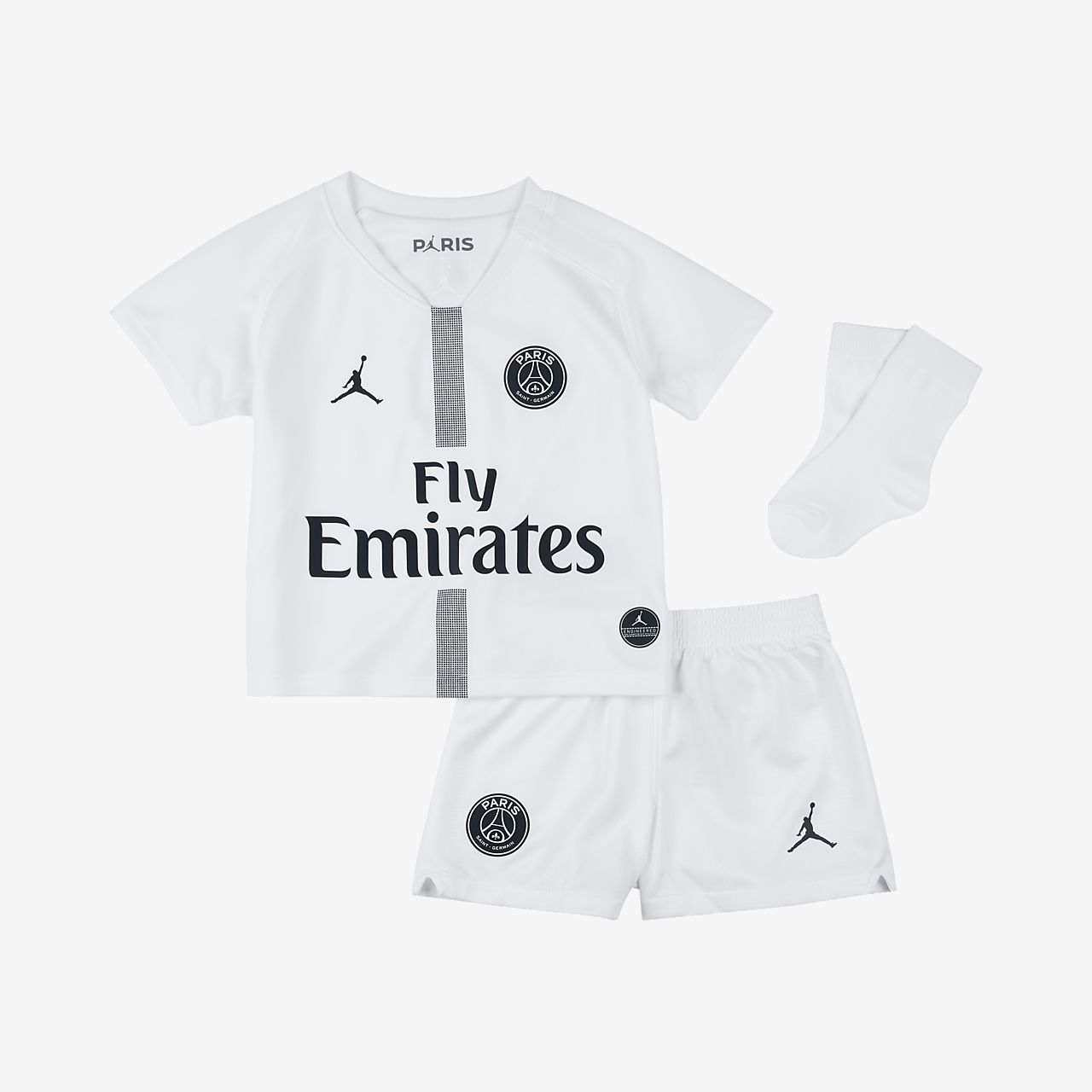 2018/19 Paris Saint-Germain Stadium Third Baby and Toddler Football Kit