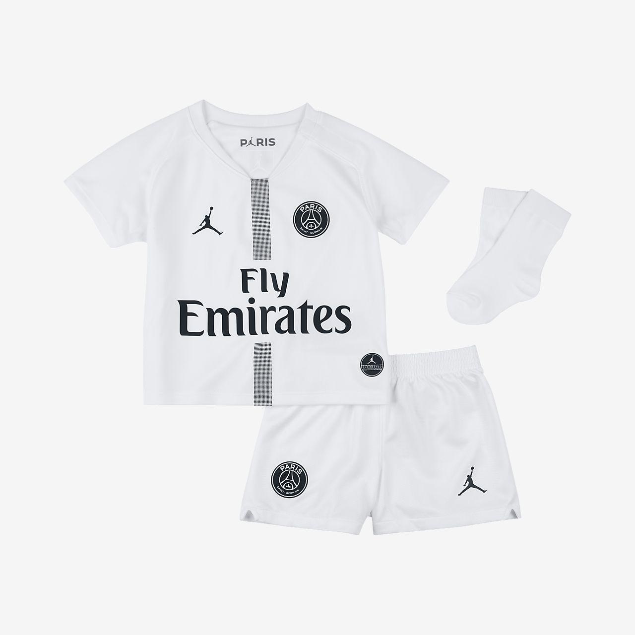 abb6e68d8 Baby and Toddler Football Kit. 2018 19 Paris Saint-Germain Stadium Third