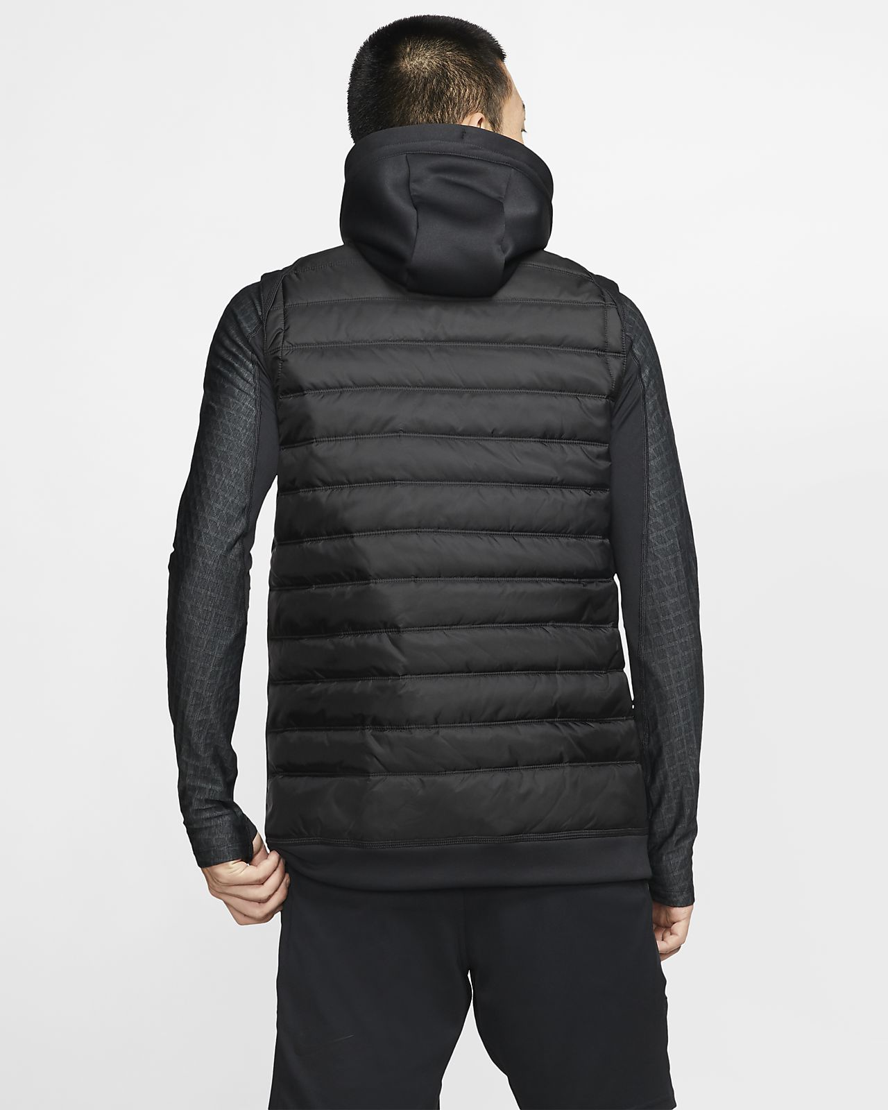 Nike Therma Men's Winterized Full Zip Training Vest