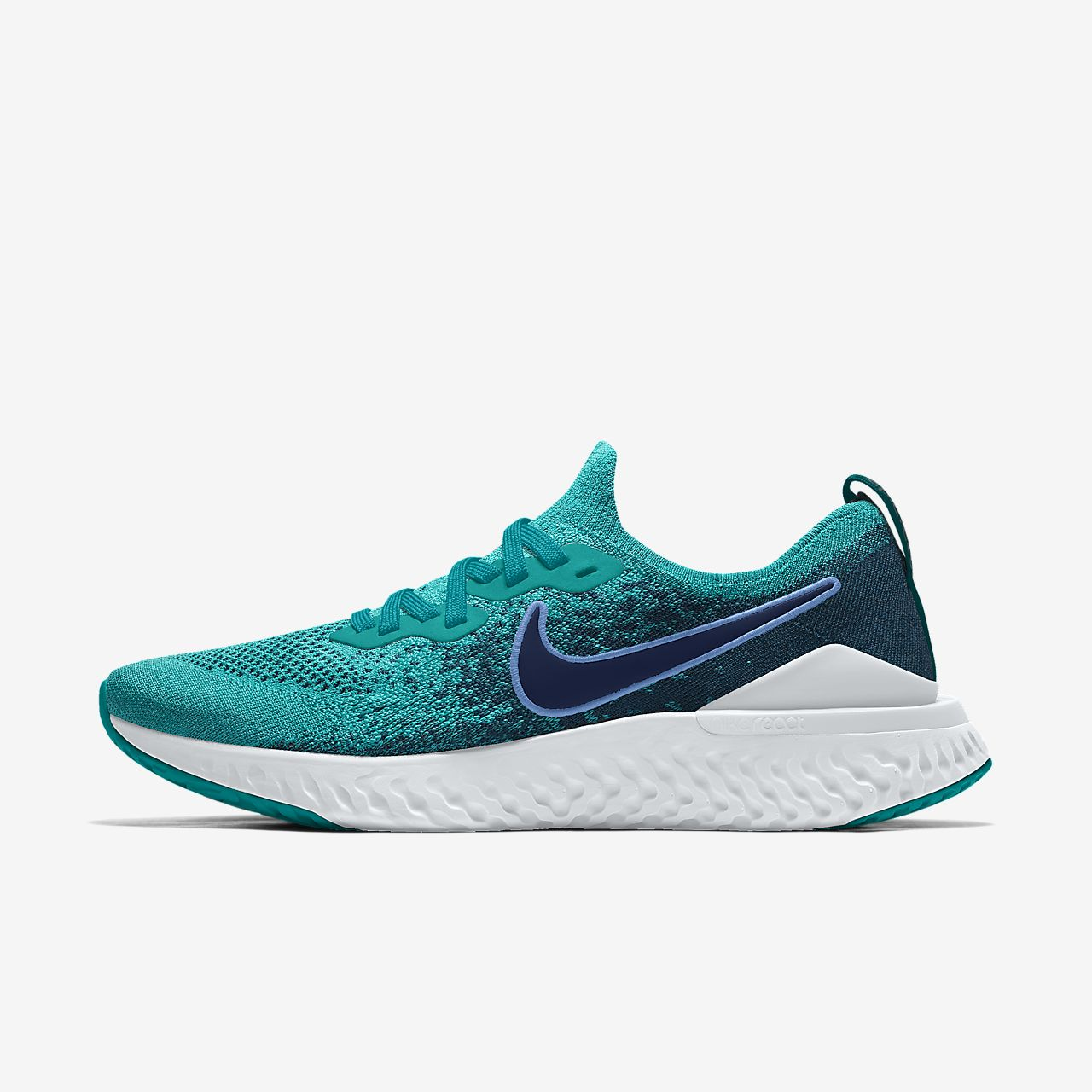 Nike Epic React Flyknit 2 By You Custom Men's Running Shoe