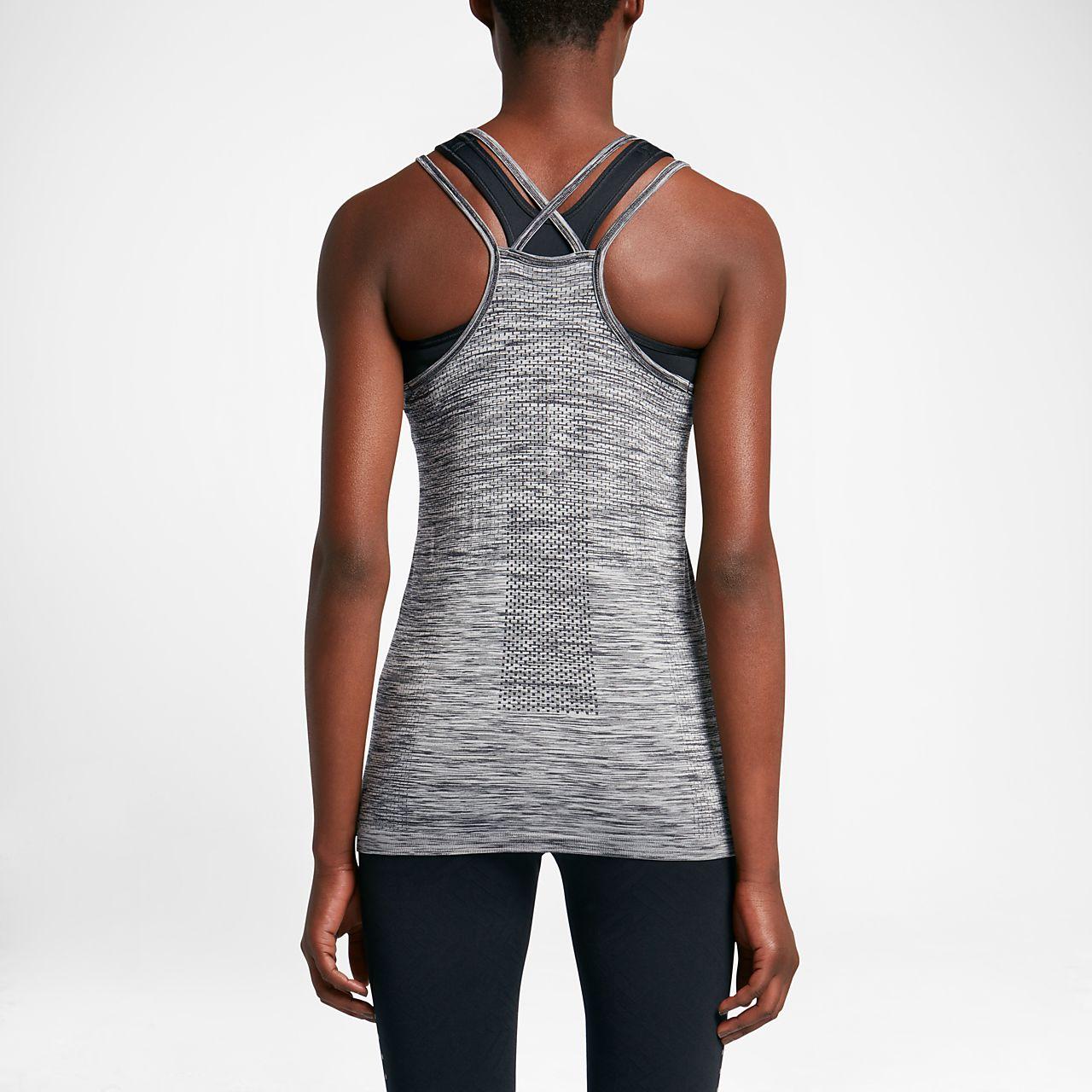 nike donna running canotta  Canotta da running Nike Dri-FIT Knit - Donna.  IT