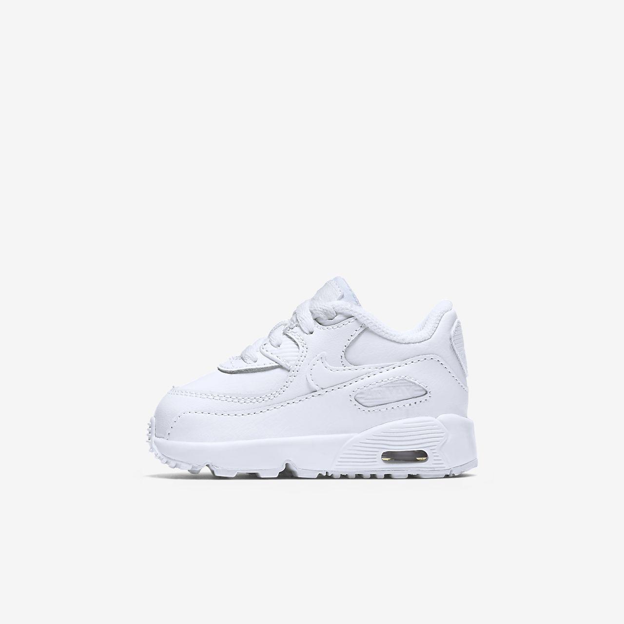 Salg Nike Sko,Nike Air Max 1 Baby Svart Hvite