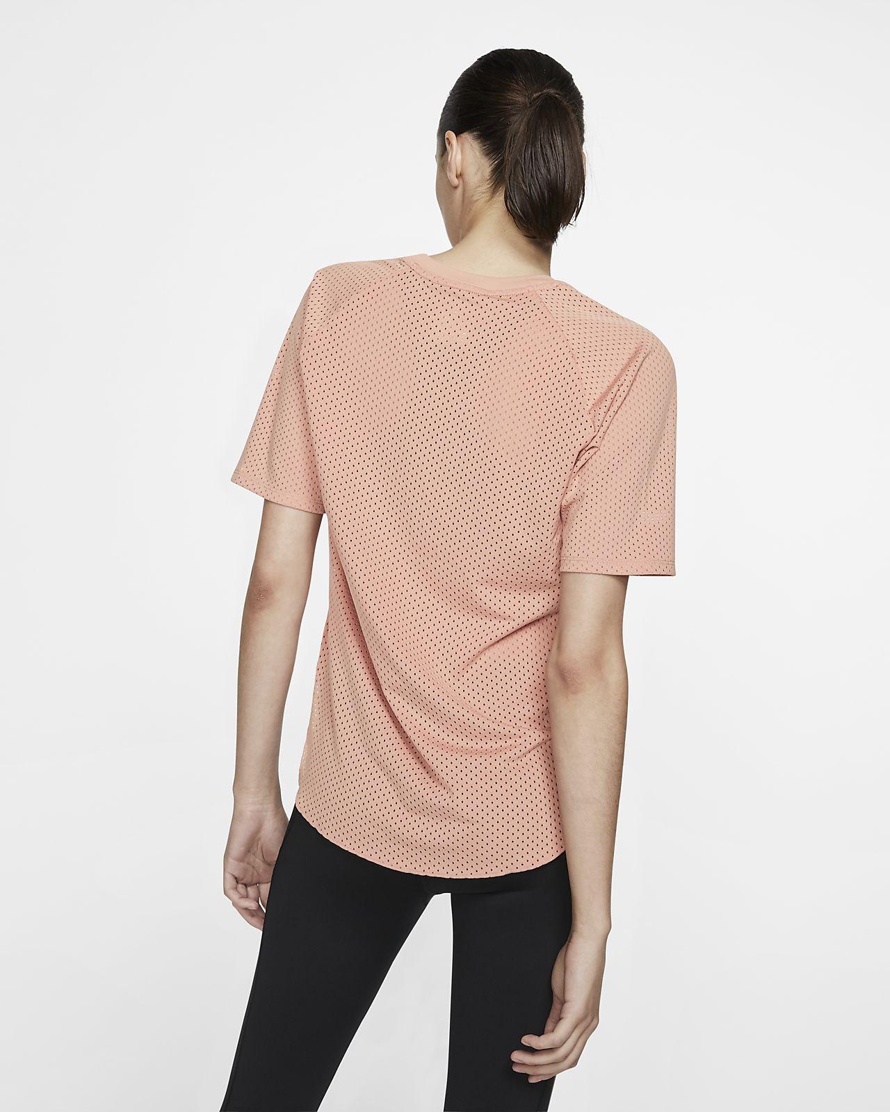 lowest price fabfa 0c044 ... Nike City Sleek Women s Short-Sleeve Running Top