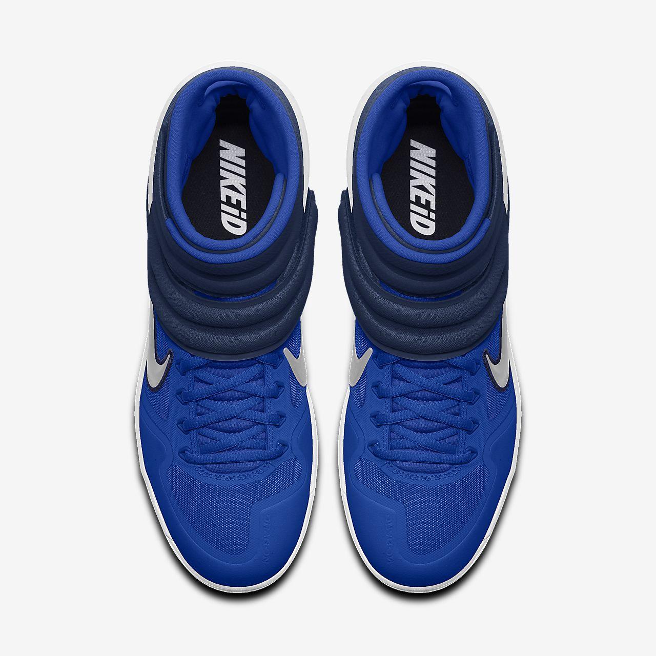 Chaussure de baseball à crampons personnalisable Nike Alpha Huarache Elite 2 Mid By You