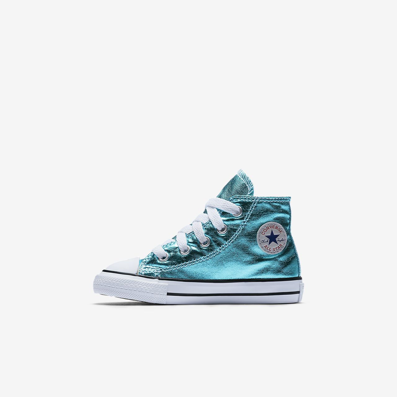 converse shoes high tops for girls. converse chuck taylor all star metallic high top infant/toddler shoe shoes tops for girls