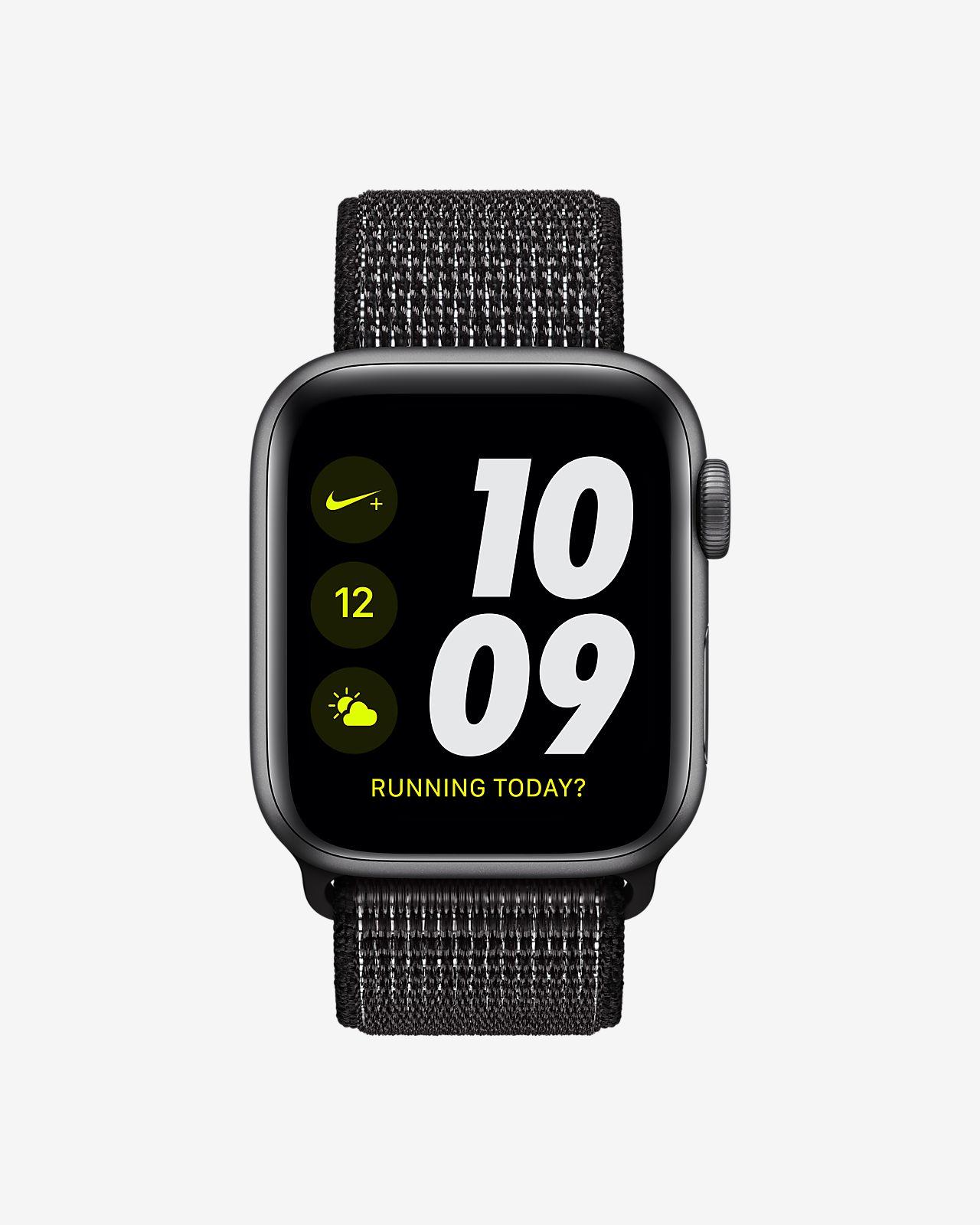 Apple Watch Nike+ Series 4 (GPS + Cellular) with Nike Sport Loop 40mm Sport  Watch