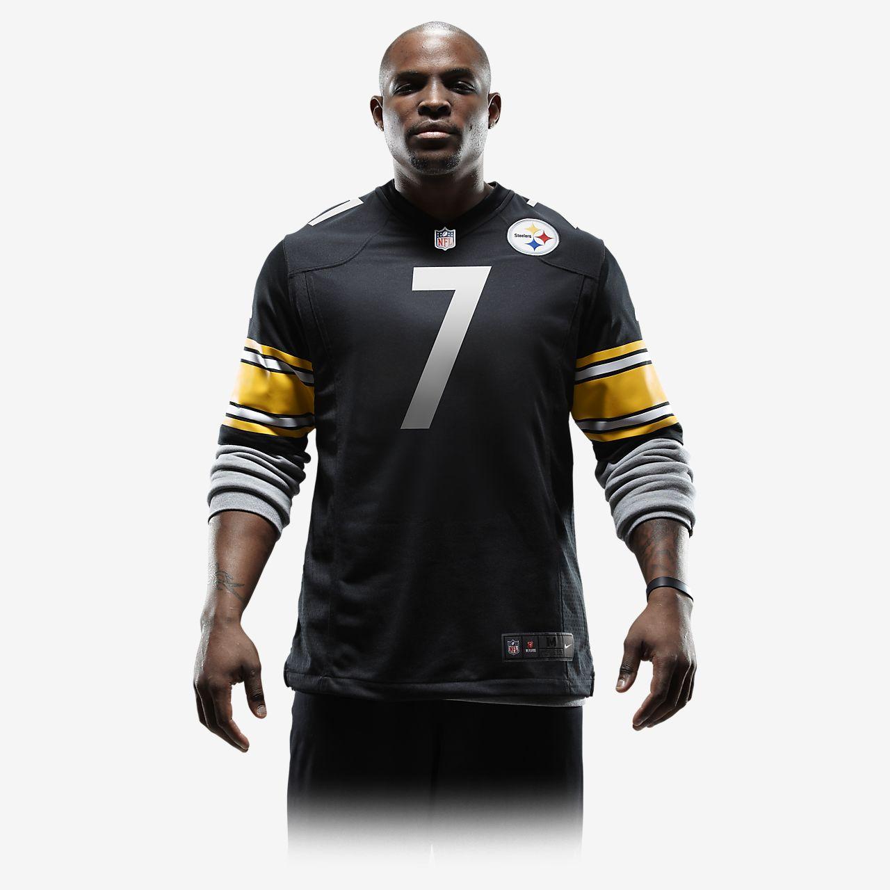 big sale 49704 c8c1d NFL Pittsburgh Steelers (Ben Roethlisberger) Men's Football Home Game Jersey