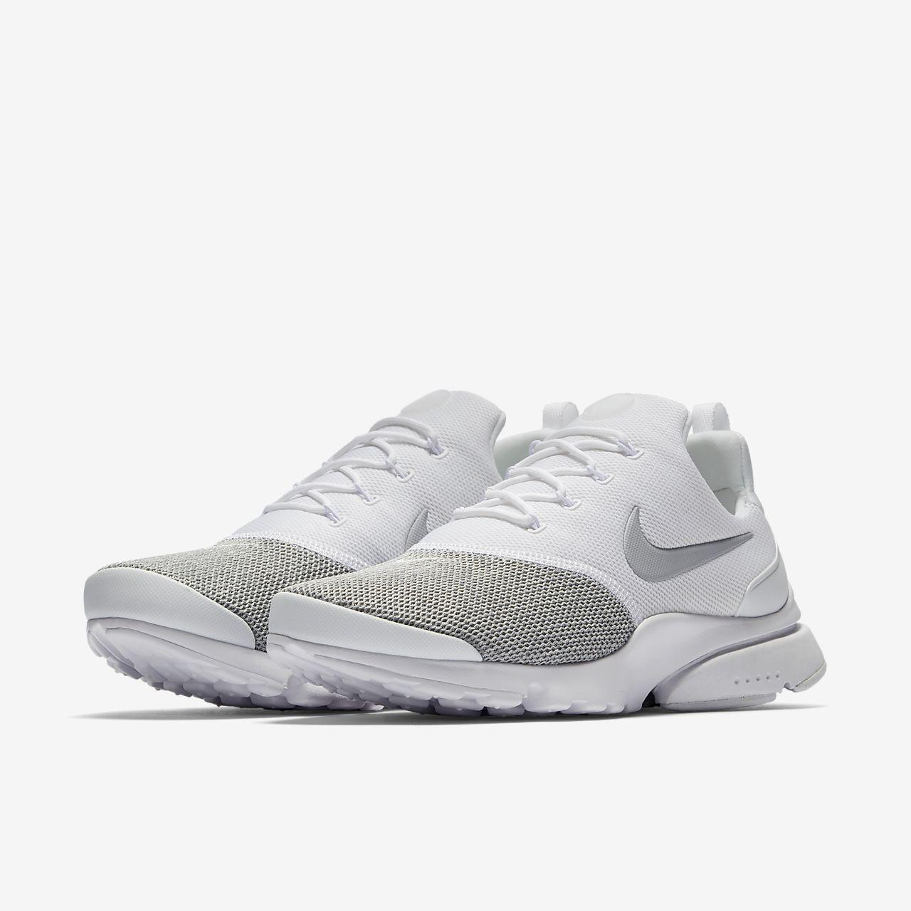 Nike WMNS Presto Fly SE White/ Wolf Grey-Wolf Grey Con Paypal En Línea Entrega Rápida Salida Mejor Para La Venta YHwhZ1UEHc