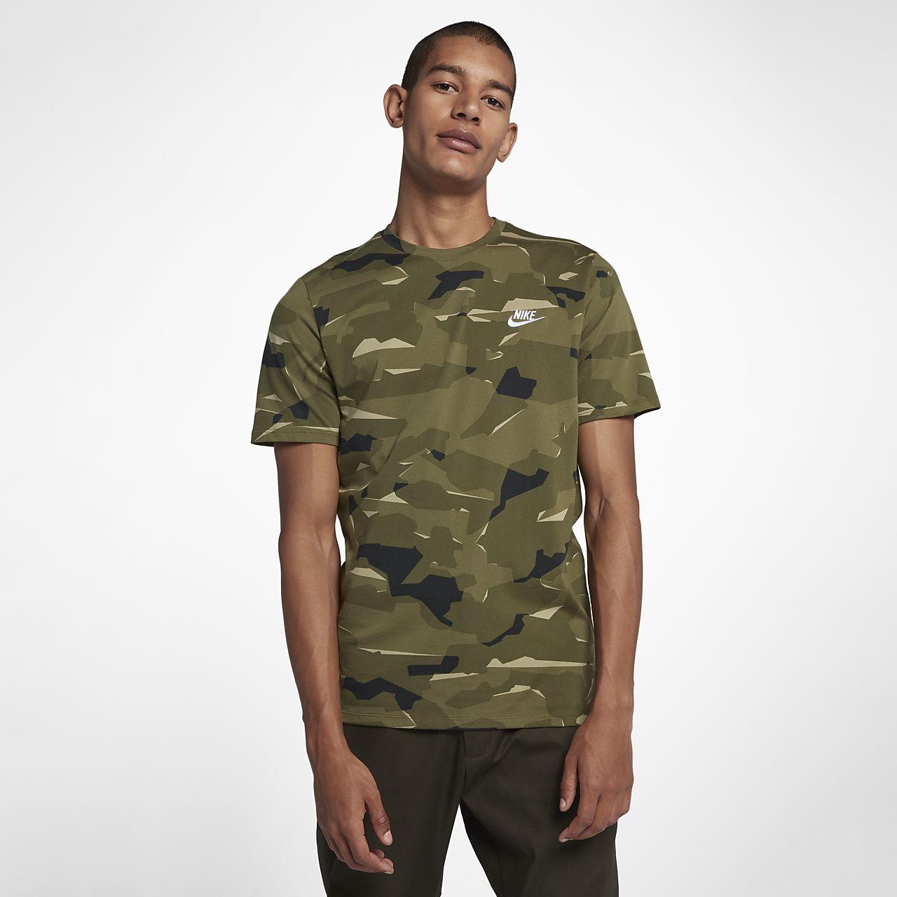 Nike Sportswear Men 39 S Camo T Shirt Nl