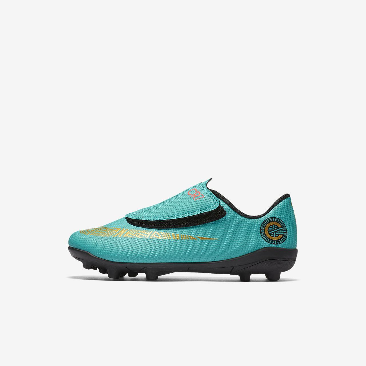 Nike Jr. Mercurial Vapor XII Club CR7 MG Fußballschuh für verschiedene Böden für Kleinkinderjüngere Kinder