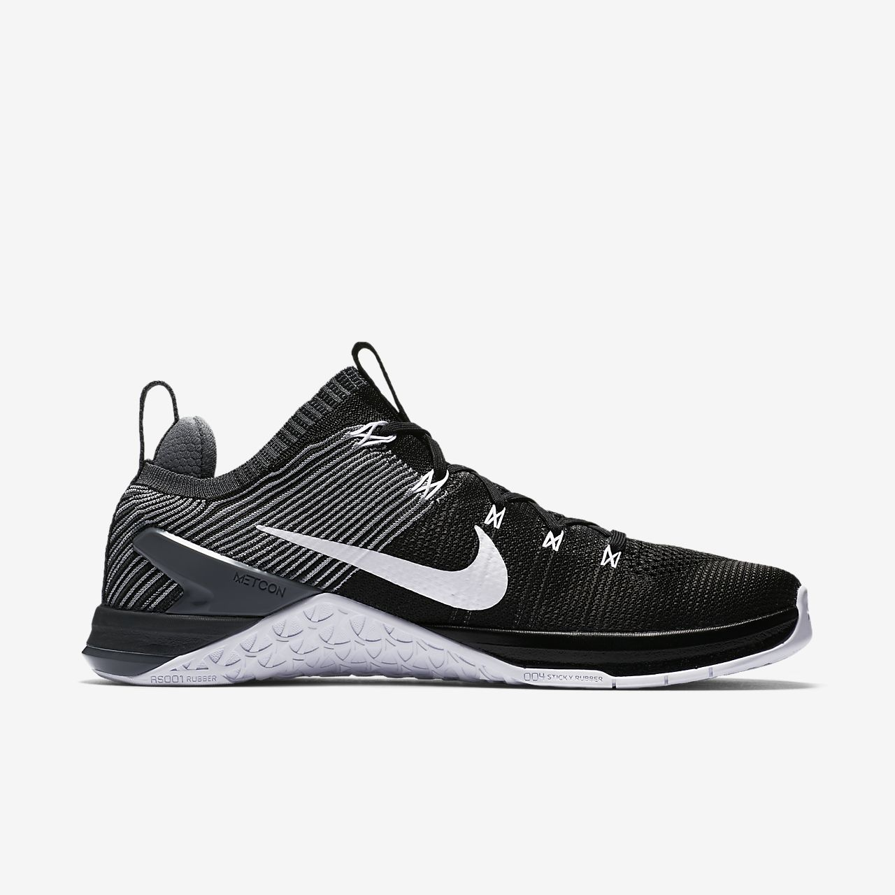 Nike Performance METCON DSX FLYKNIT 2 - Sports shoes - black/white