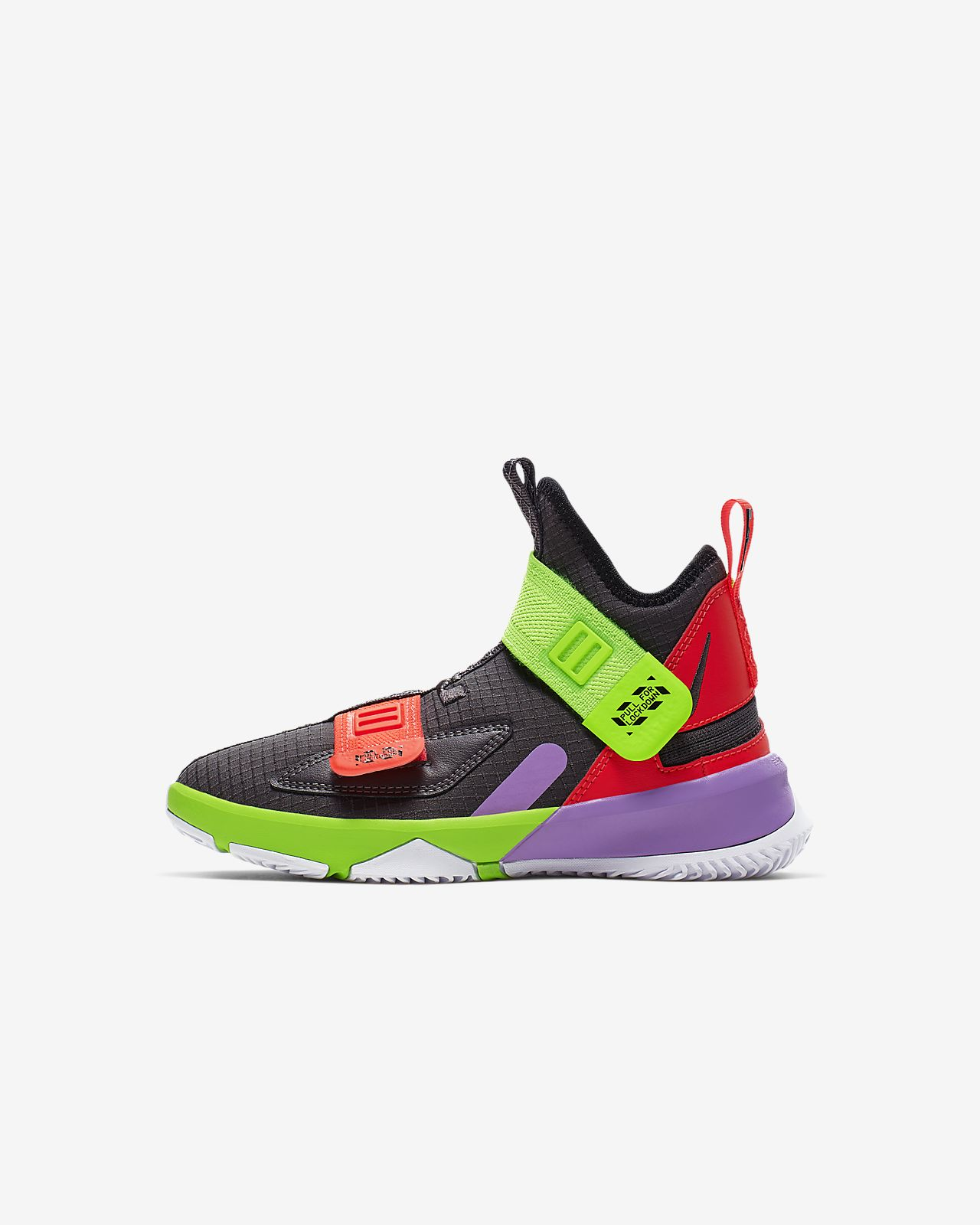 half off 9ae07 94176 LeBron Soldier 13 FlyEase Little Kids' Shoe