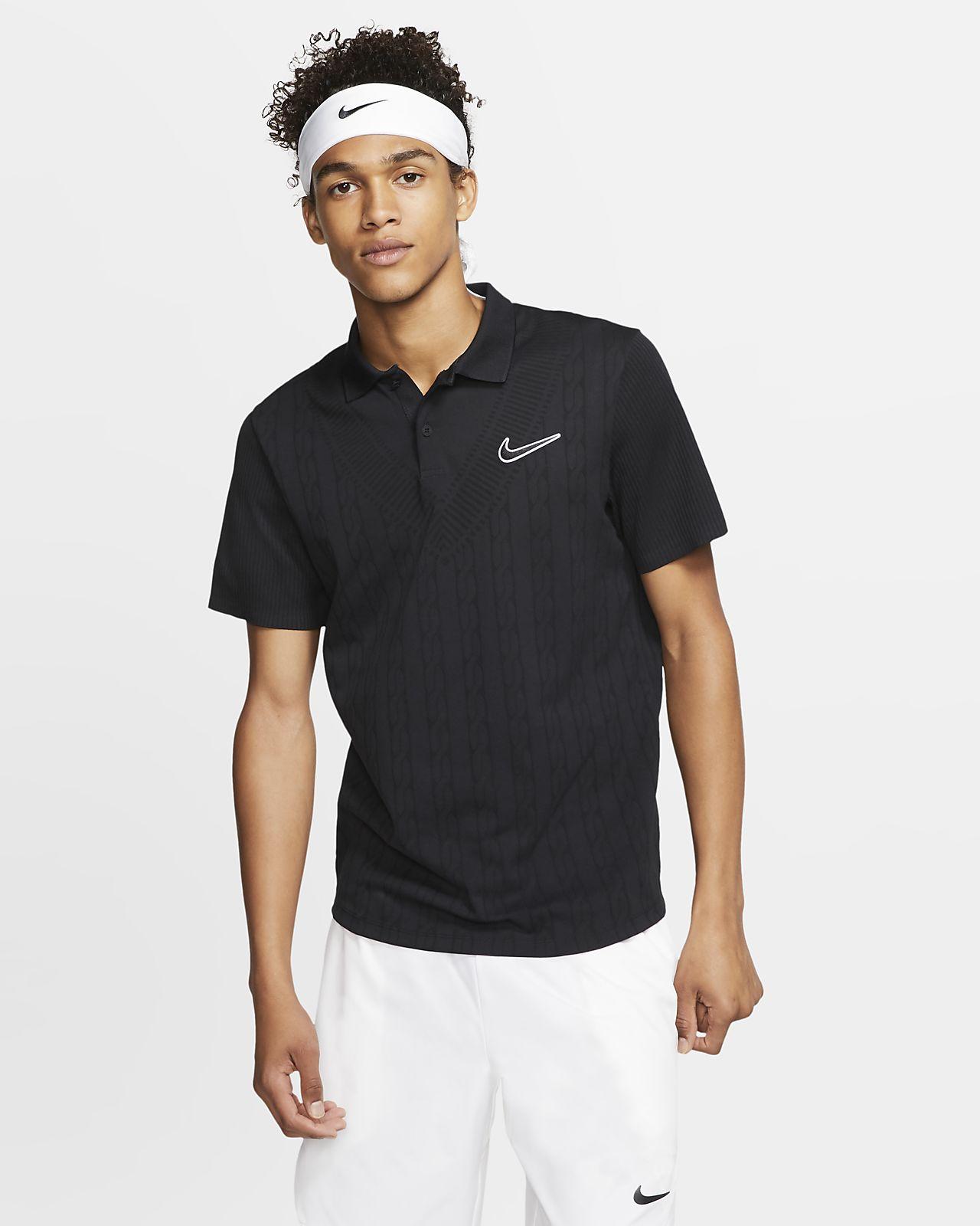NikeCourt Advantage-tennistrøye for herre