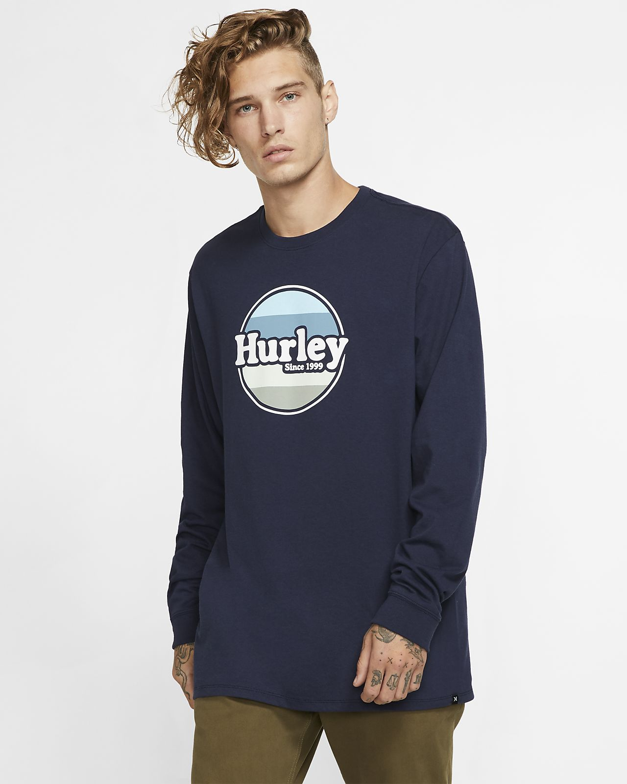 Tee-shirt à manches longues Hurley Jammer pour Homme