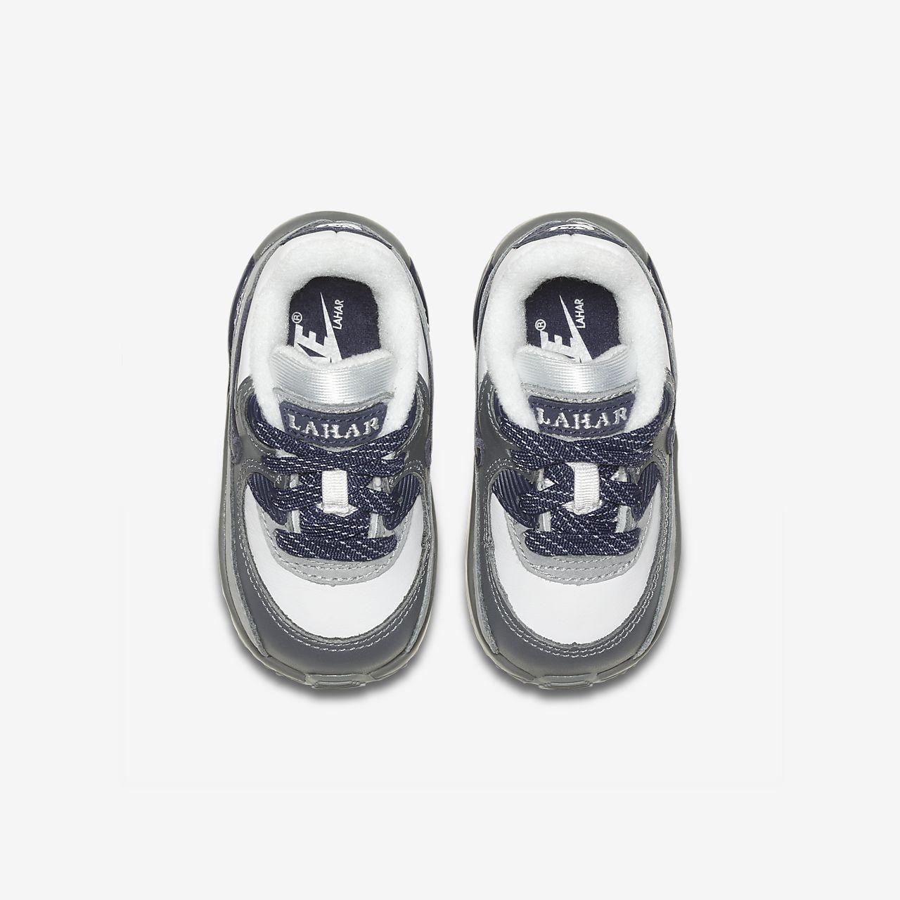 Nike Air Max 90 Baby and Toddler Shoe. Nike LU