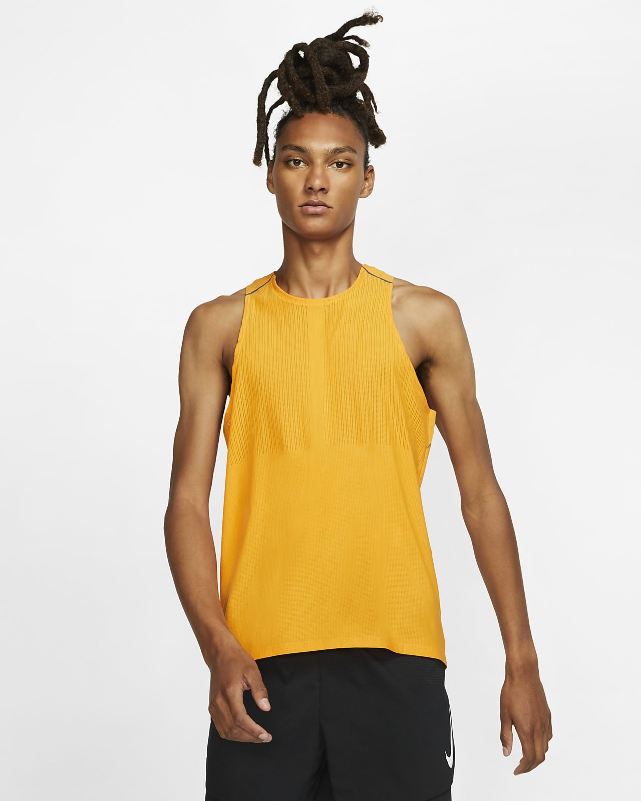 Męska koszulka bez rękawów do biegania Nike Tech Pack