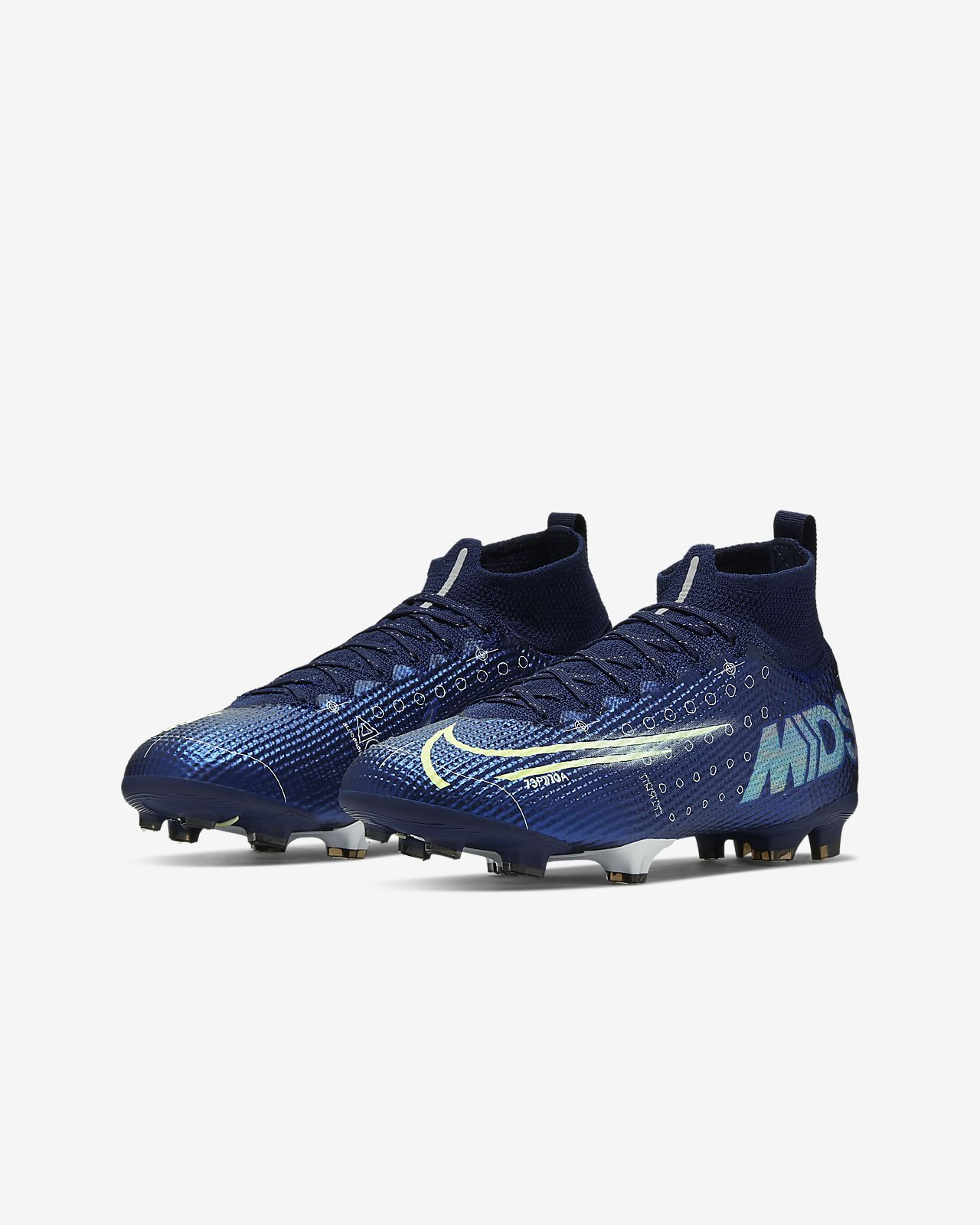 Nike Jr. Mercurial Superfly 7 Elite MDS FG Botas de fútbol para terreno firme Niñoa