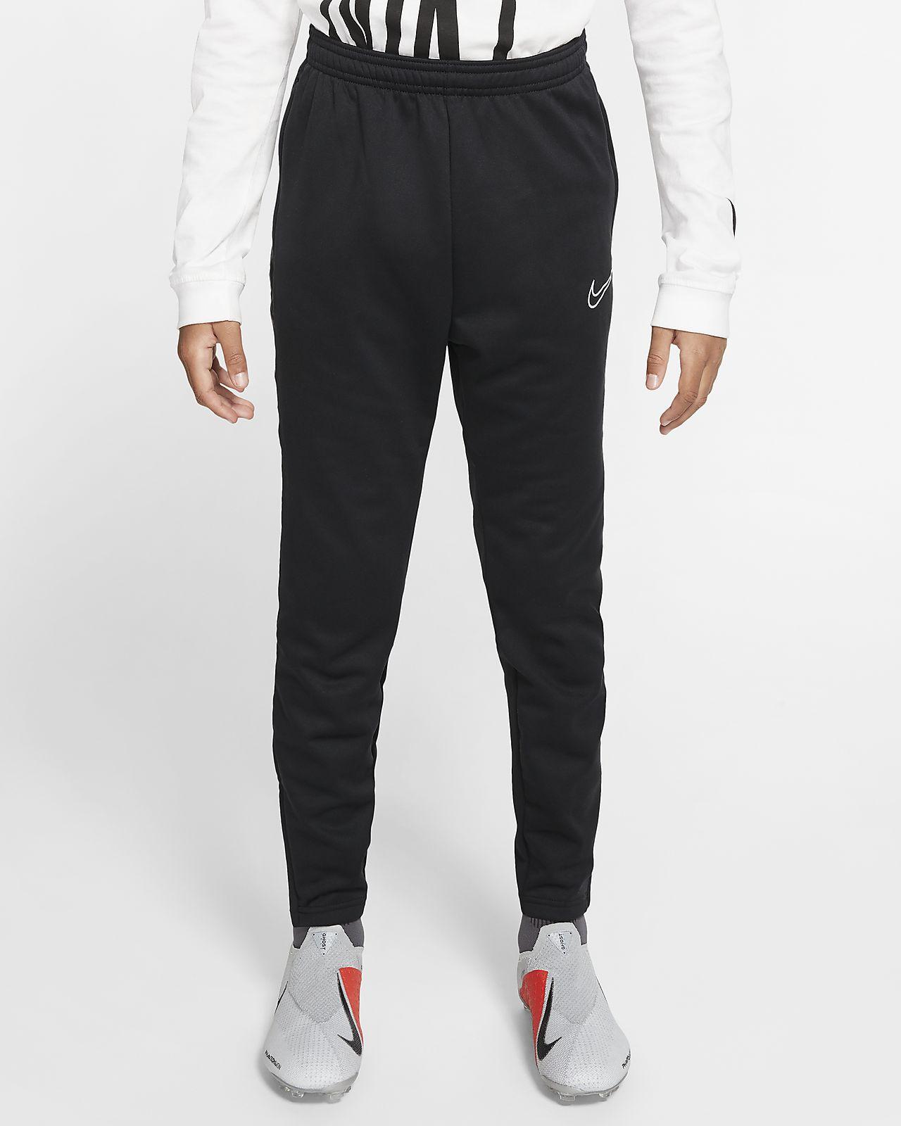 Spodnie piłkarskie dla dużych dzieci Nike Therma Academy
