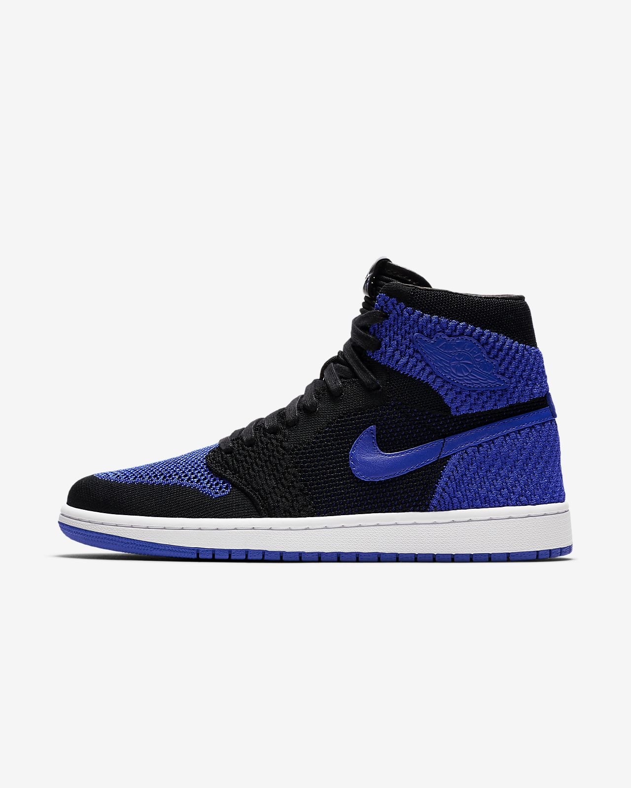 84395b67 Мужские кроссовки Air Jordan 1 Retro High Flyknit. Nike.com RU