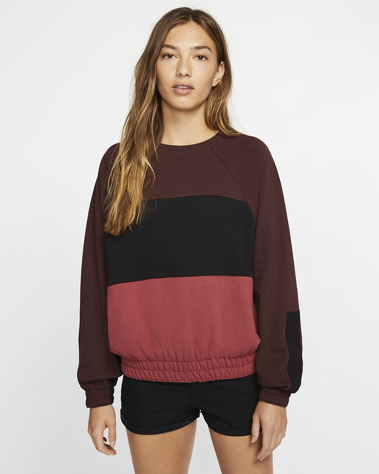Hurley One and Only Dolman Women's Fleece Crew