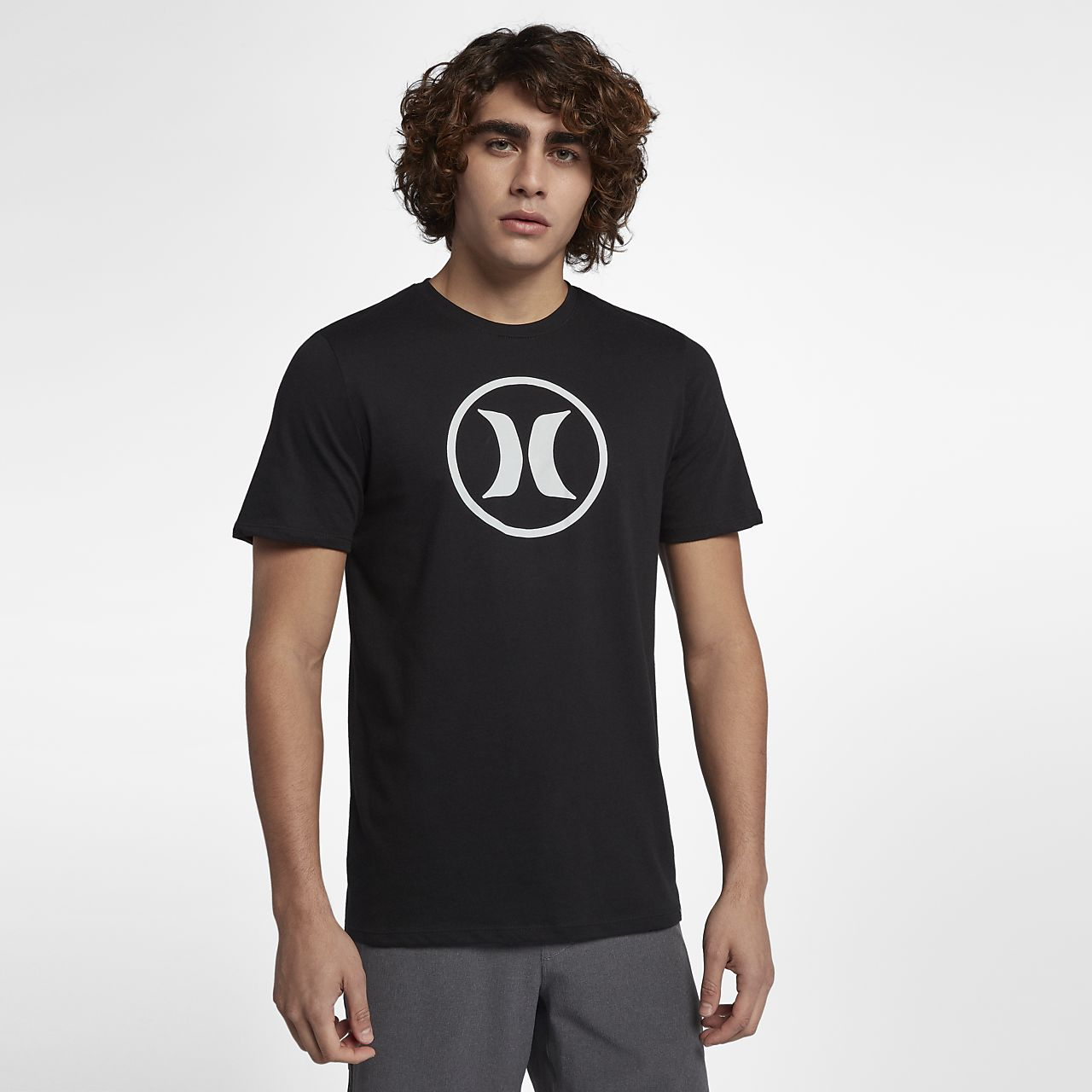 ... Hurley Circle Icon Dri-FIT Men's T-Shirt