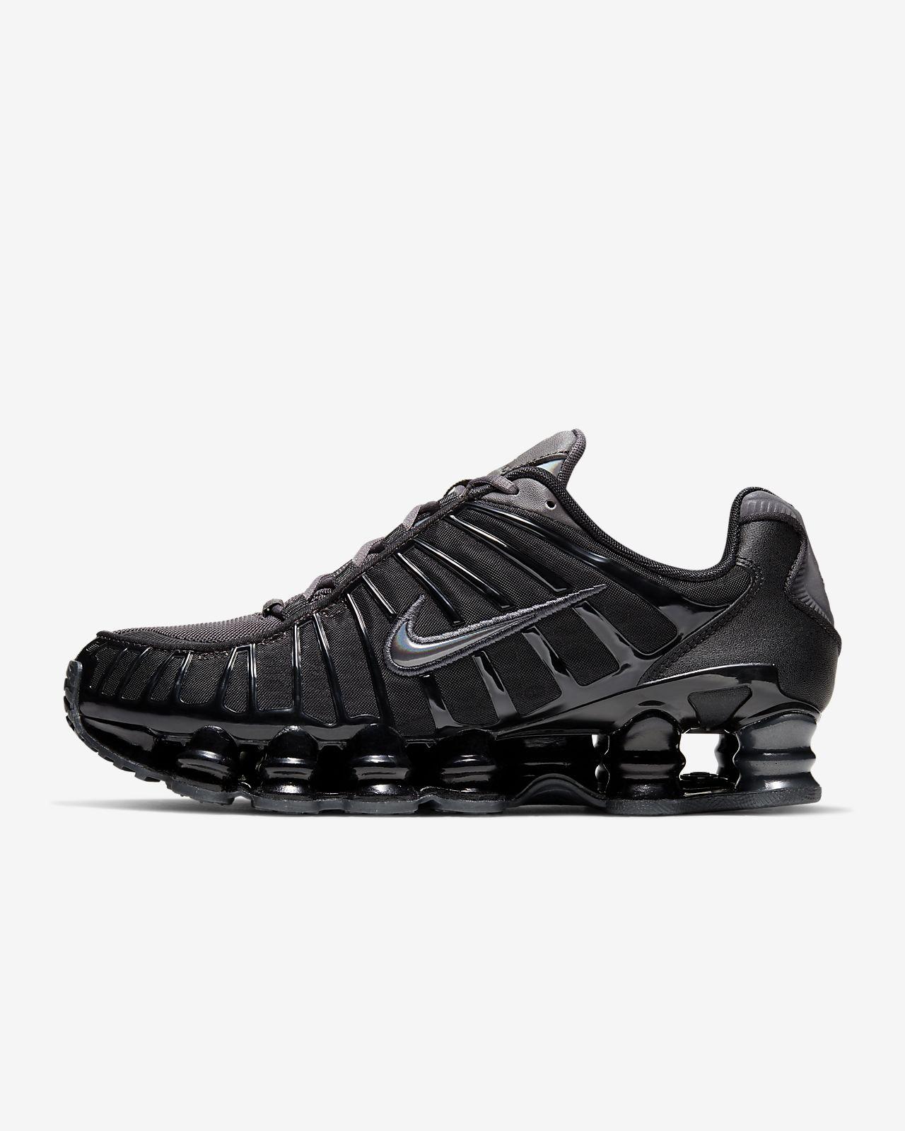 Nike Shox aus USA Schuhe Frauen Damenschuh Gr 40 schwarz pink