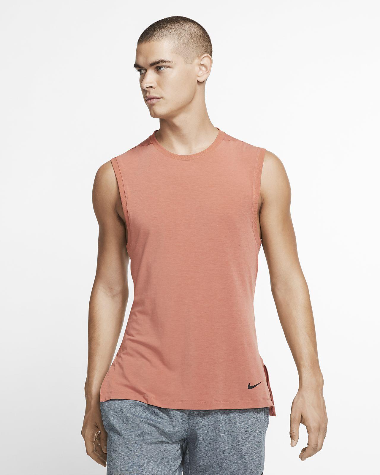 Camiseta de tirantes de entrenamiento de yoga para hombre Nike Dri-FIT