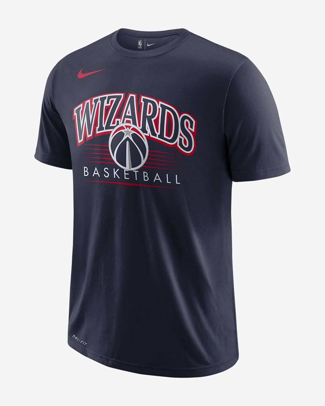 Washington Wizards Nike Dri-FIT NBA-s férfipóló