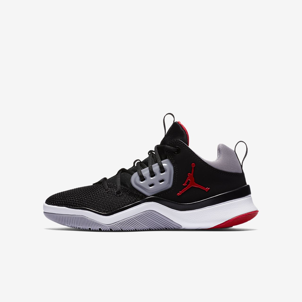 new products a0974 9e43c Jordan Nike Herren Air DNA Rot Textil Synthetik Sneaker -  muwi-duesseldorf.de