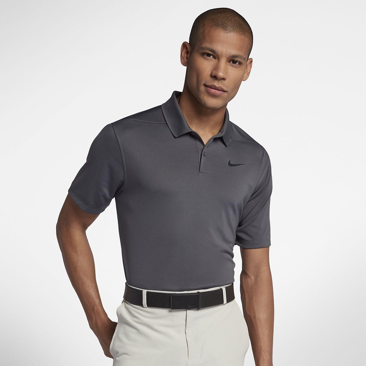 Polo de golf coupe standard Nike Dri-FIT pour Homme - Gris GycED3RVl