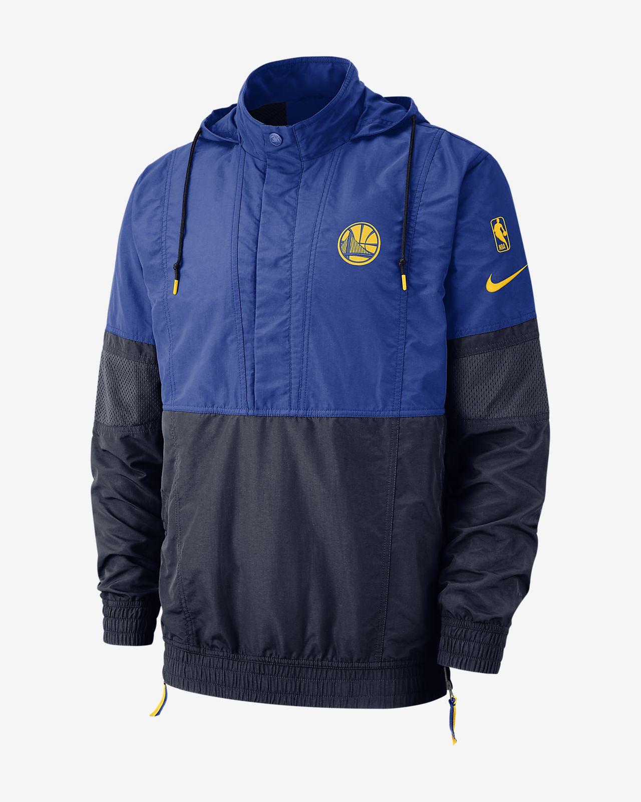 Golden State Warriors Nike Courtside Men's Hooded NBA Jacket