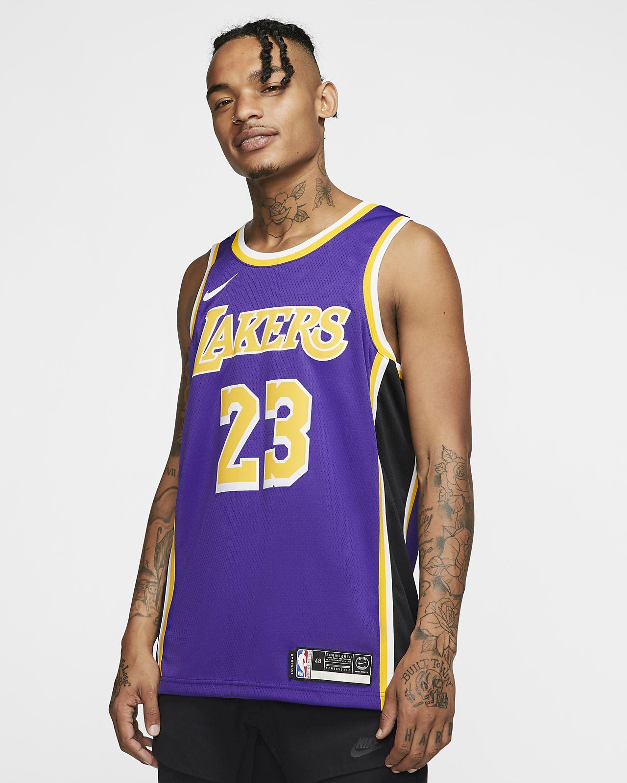 ... LeBron James Statement Edition Swingman (Los Angeles Lakers) Men s Nike  NBA Connected Jersey 3c89cf246
