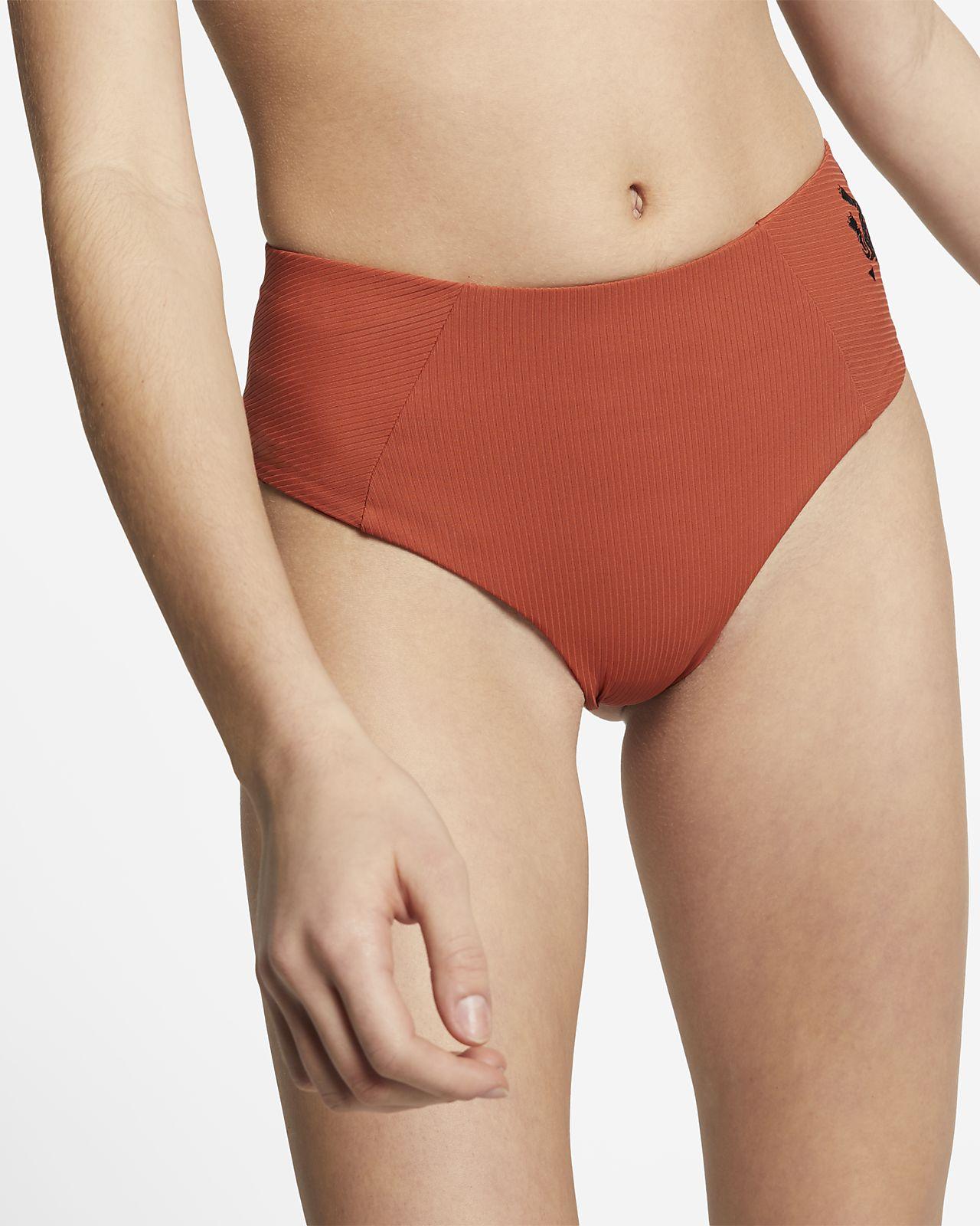 Surfunderdel med hög midja Hurley Quick Dry Embroidered för kvinnor