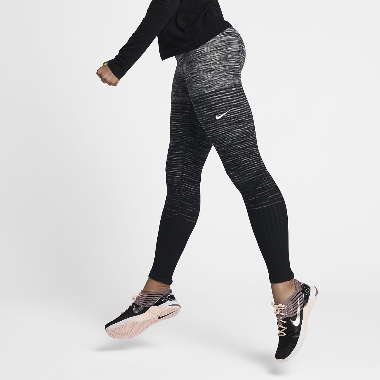Kendte Nike Pro HyperWarm Women's Training Tights. Nike.com SG ZW-92