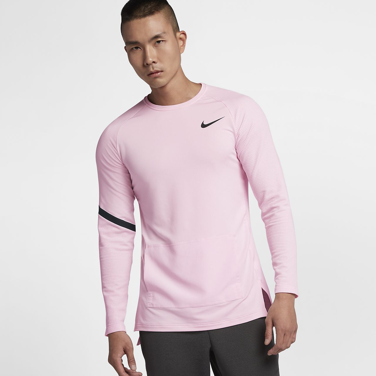 Långärmad tröja Nike Pro Modern för män