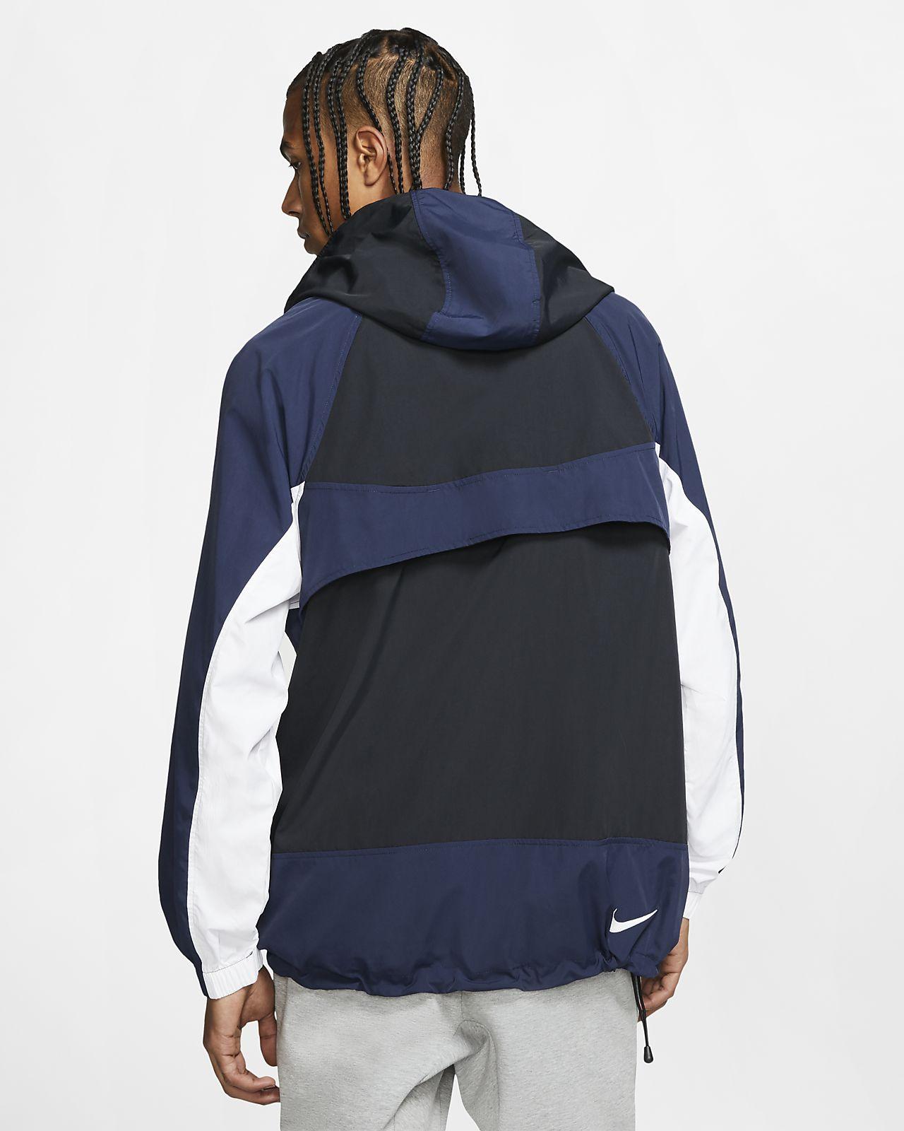 on sale 87d36 c9eb7 Giacca con cappuccio Nike Sportswear in tessuto woven