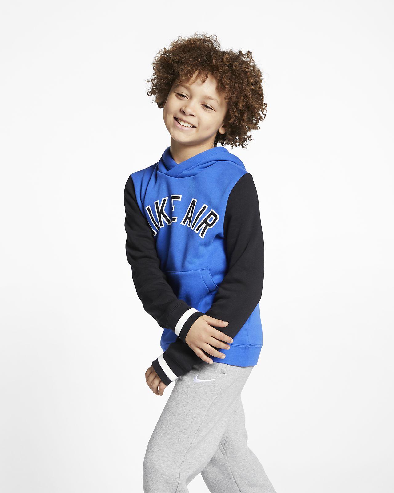 Nike Air Big Kids' Fleece Pullover Hoodie