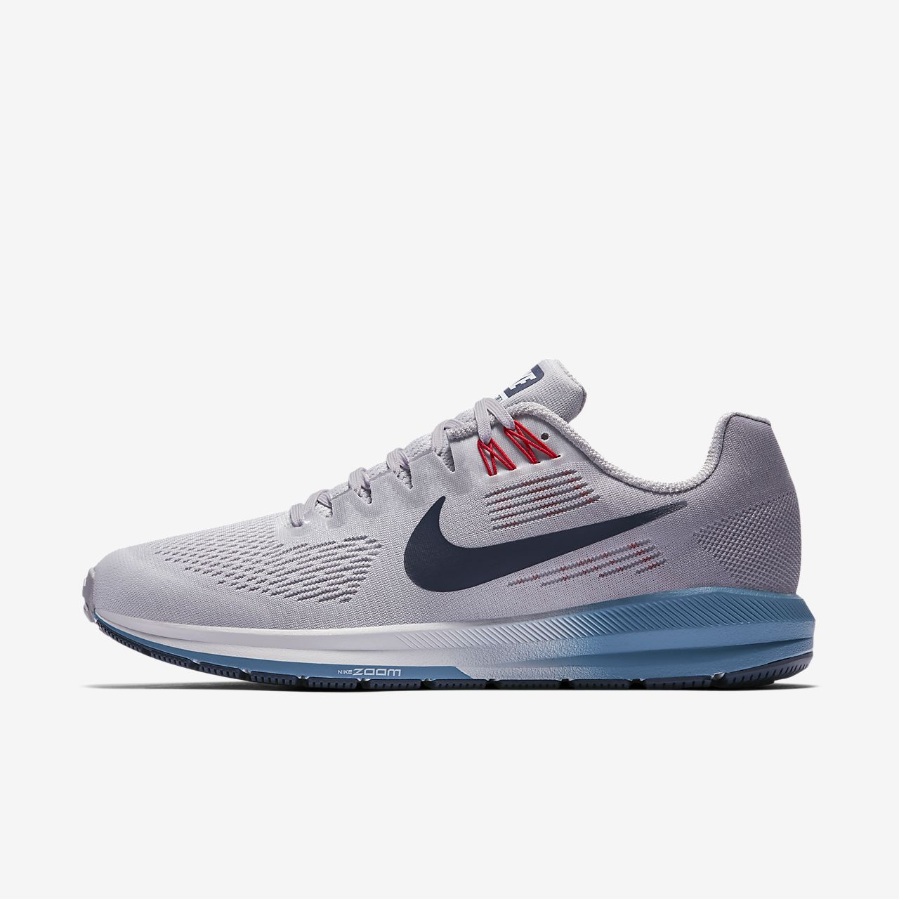 Nike Performance AIR ZOOM STRUCTURE 21 - Chaussures de running stables gris 8LOZCCl75