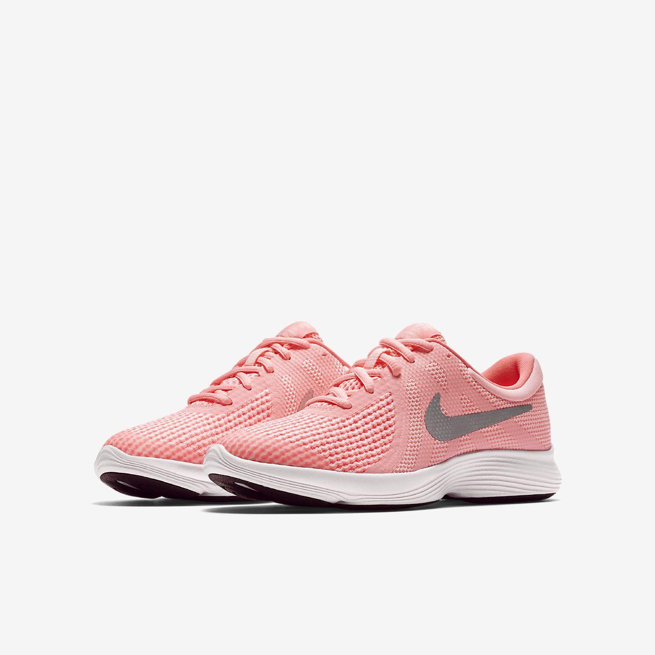 Nike Revolution 4 Big Laufschuh für ältere Kinder - Silver pAZCw