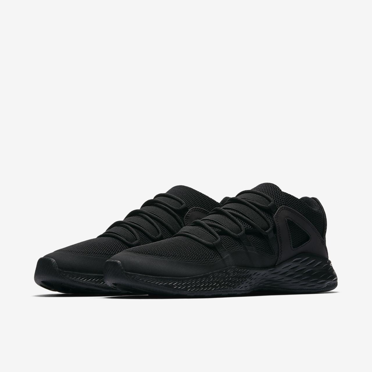 Nike Jordan Formula 23 Low, Chaussures de Gymnastique Homme, Noir (Black/Black/White), 45 EU