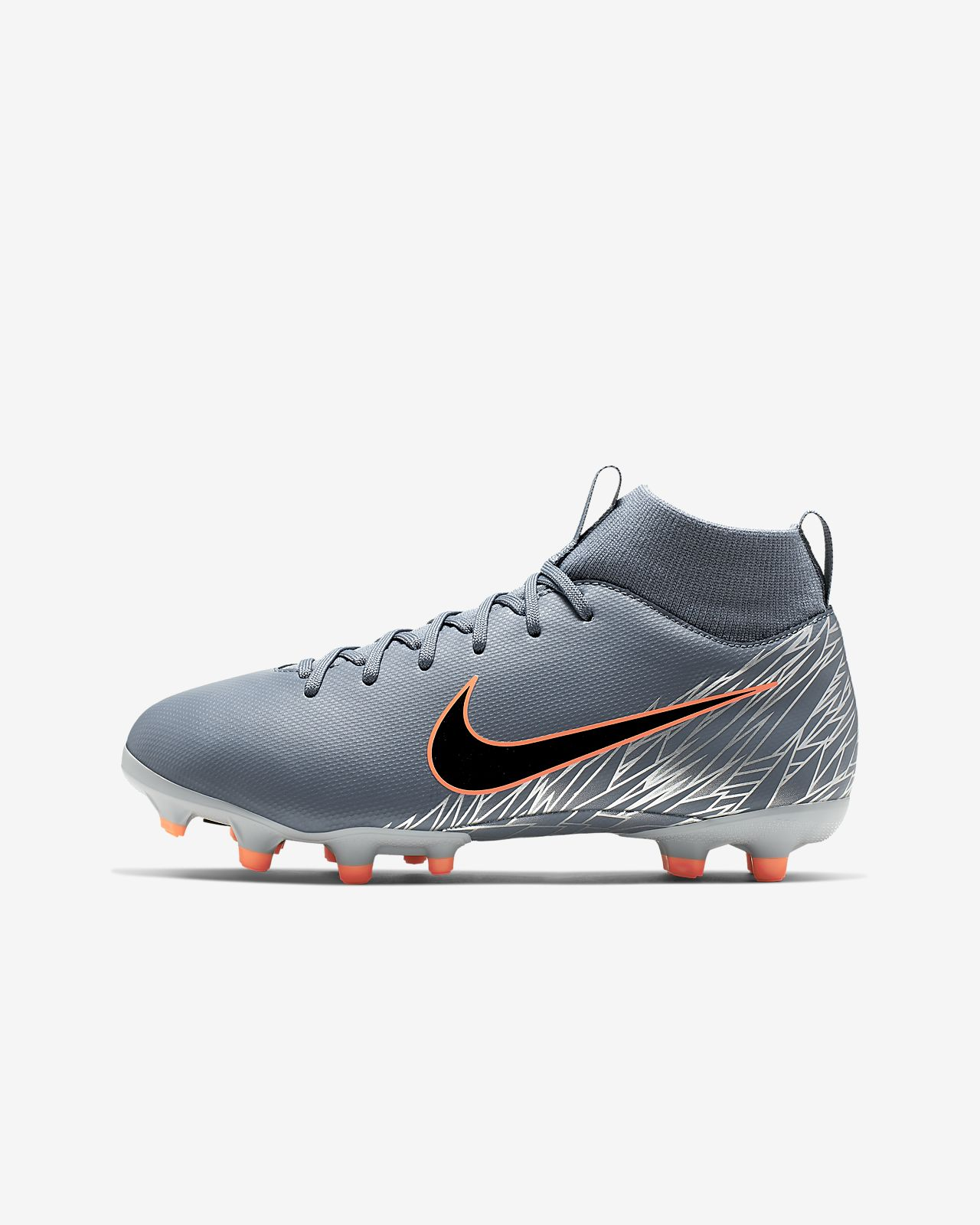 29e281f18 Nike Jr. Superfly 6 Academy MG Little Big Kids  Multi-Ground Soccer ...