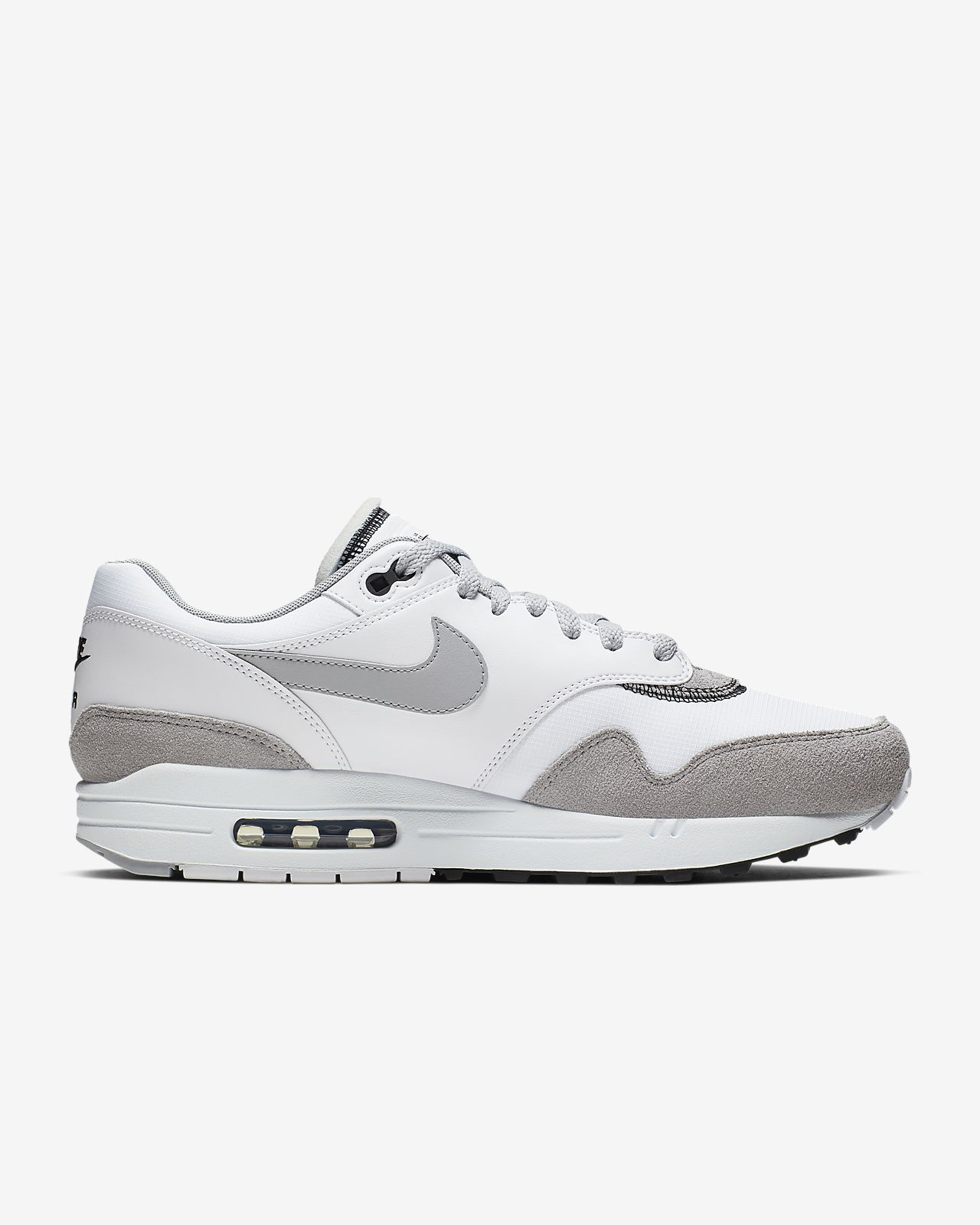 Nike Air Max 1 whitecool greyteam reduniversity red (Herren) (AH8145 100) ab € 102,16
