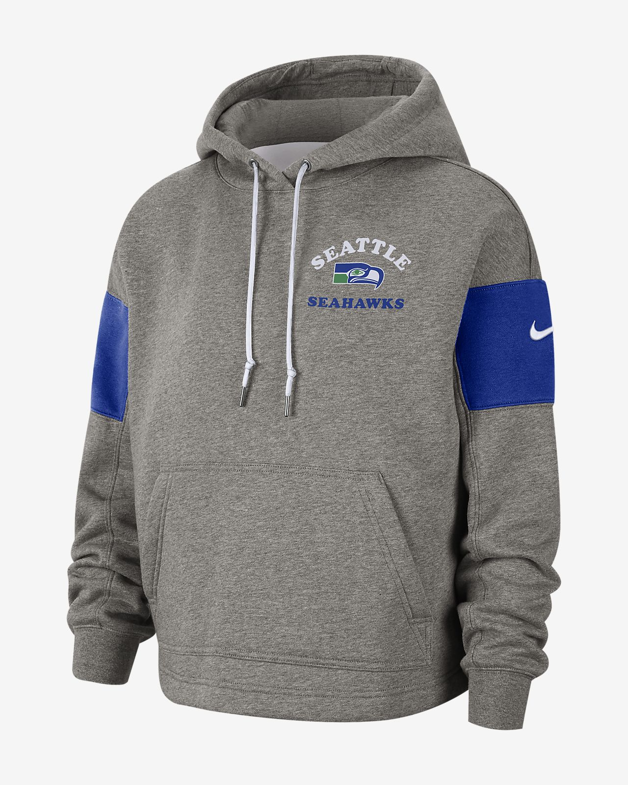 quality design 1868a 14f2d Nike Historic (NFL Seahawks) Women's Pullover Hoodie