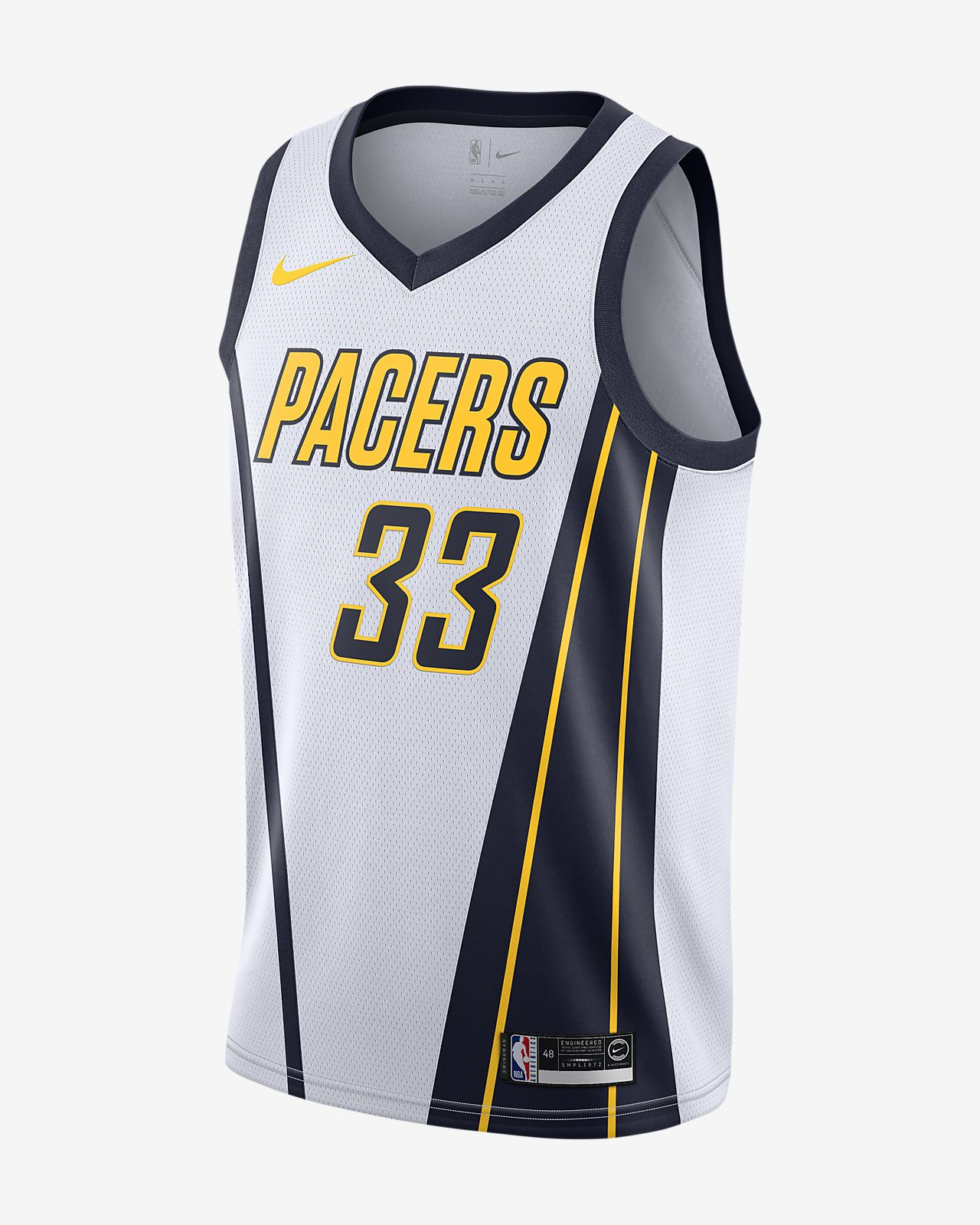 0cf2e54edfc Men s Nike NBA Connected Jersey. Myles Turner Earned City Edition Swingman  (Indiana Pacers)