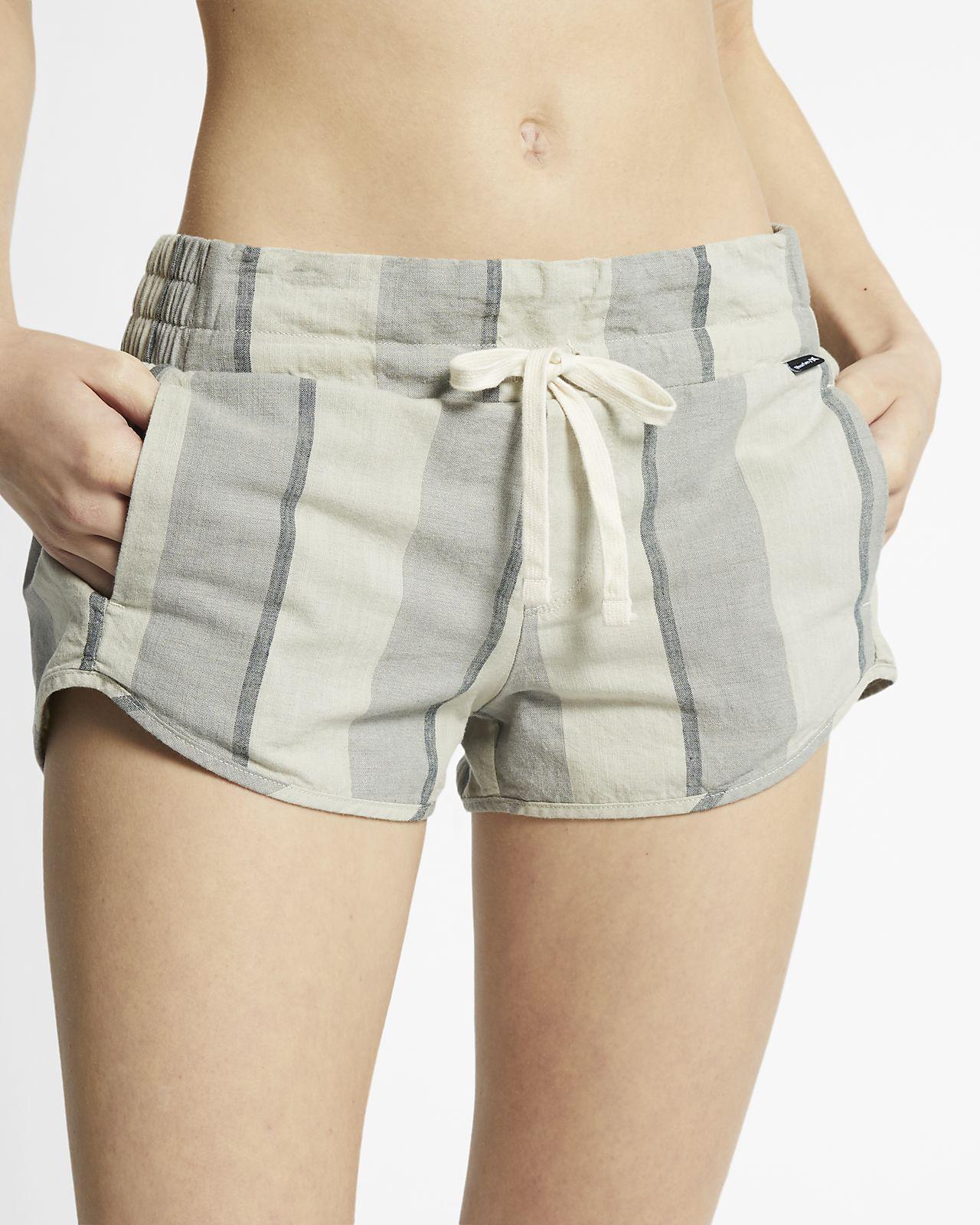 Randiga shorts Hurley Beach för kvinnor