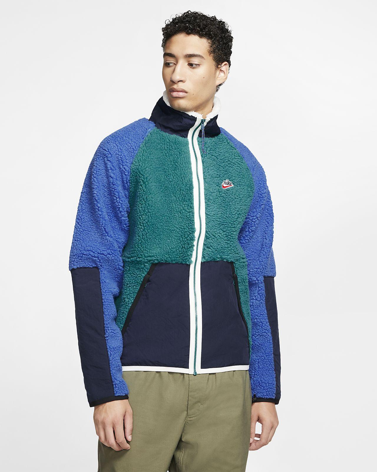 Nike Sportswear Sherpa Fleece Jacke für Herren