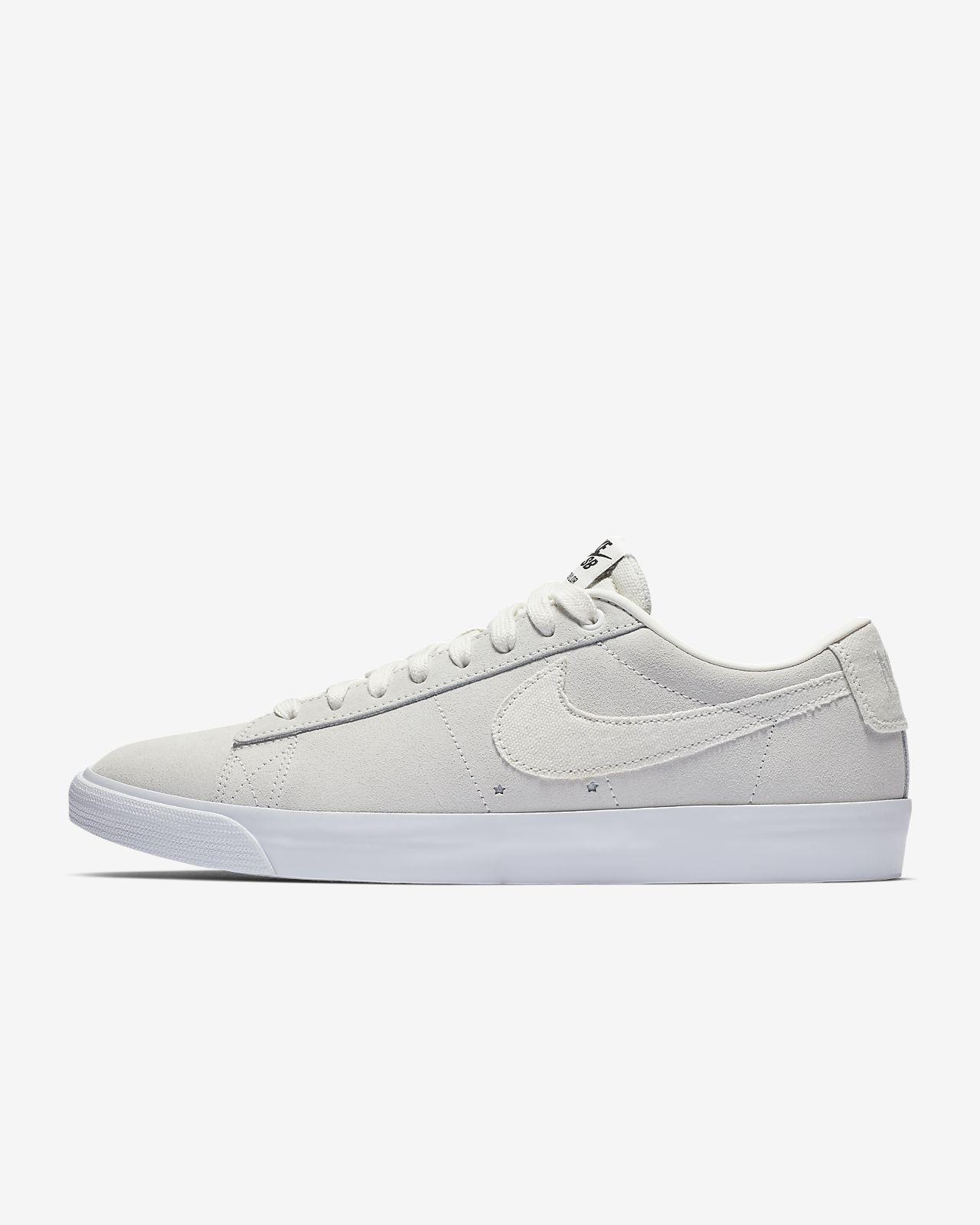 Light Bone Nike Blazer Low Chaussures, Nike Femme Nike
